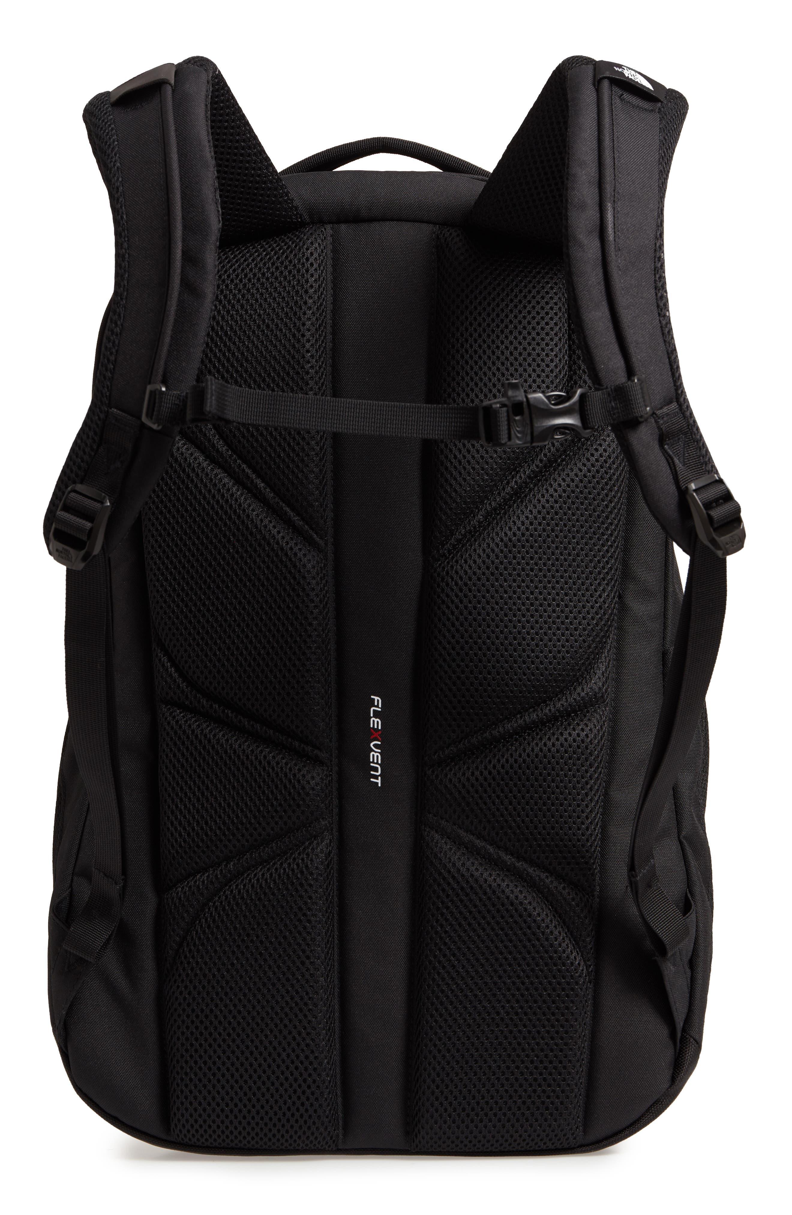 'Jester' Backpack,                             Alternate thumbnail 3, color,                             TNF BLACK