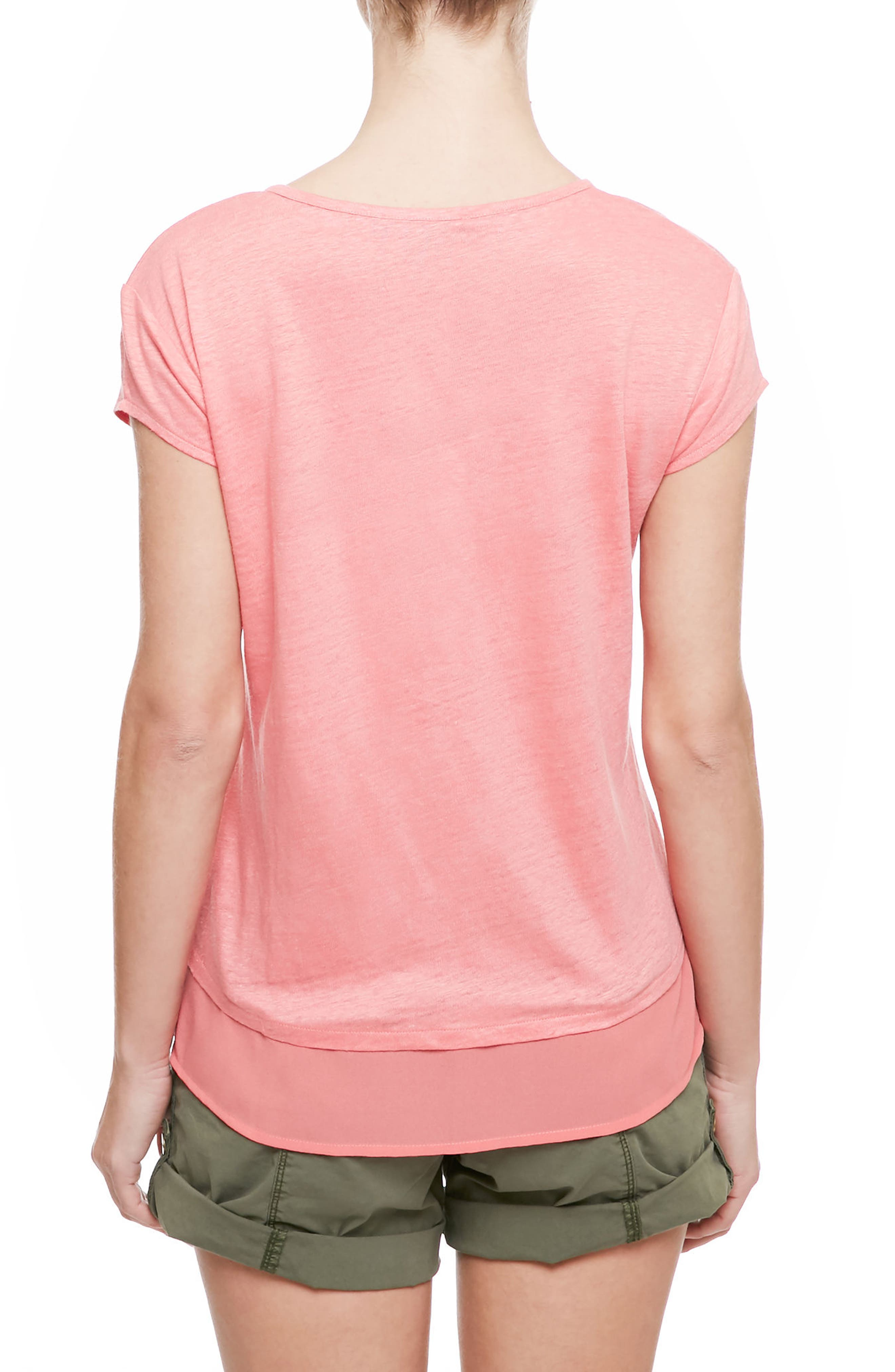 City Mix Layered Look Tee,                             Alternate thumbnail 45, color,