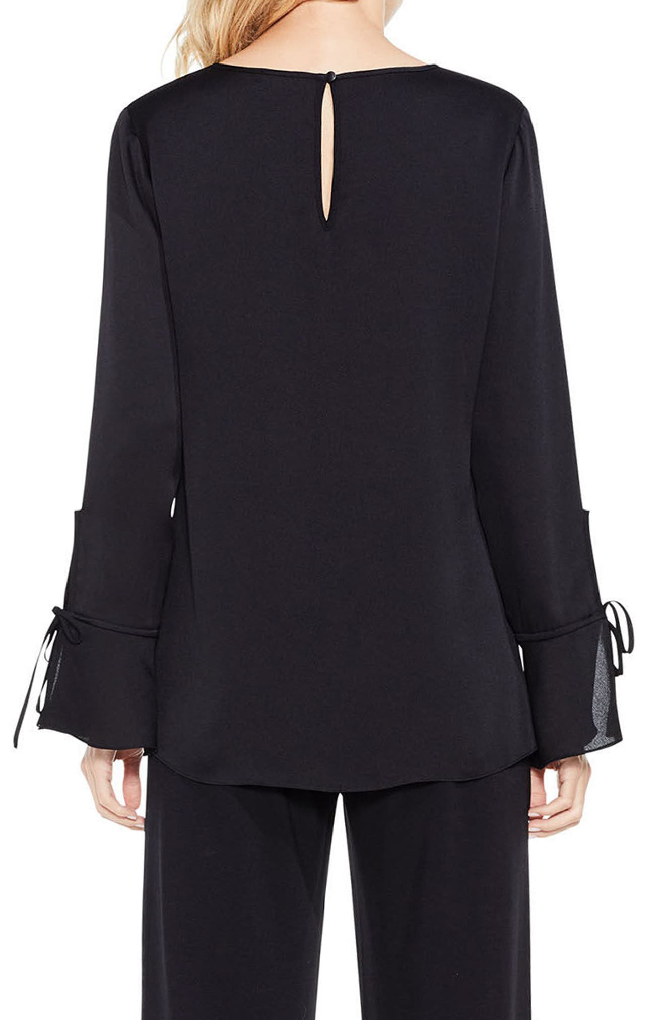 Bell Sleeve Colorblock Top,                             Alternate thumbnail 2, color,                             108