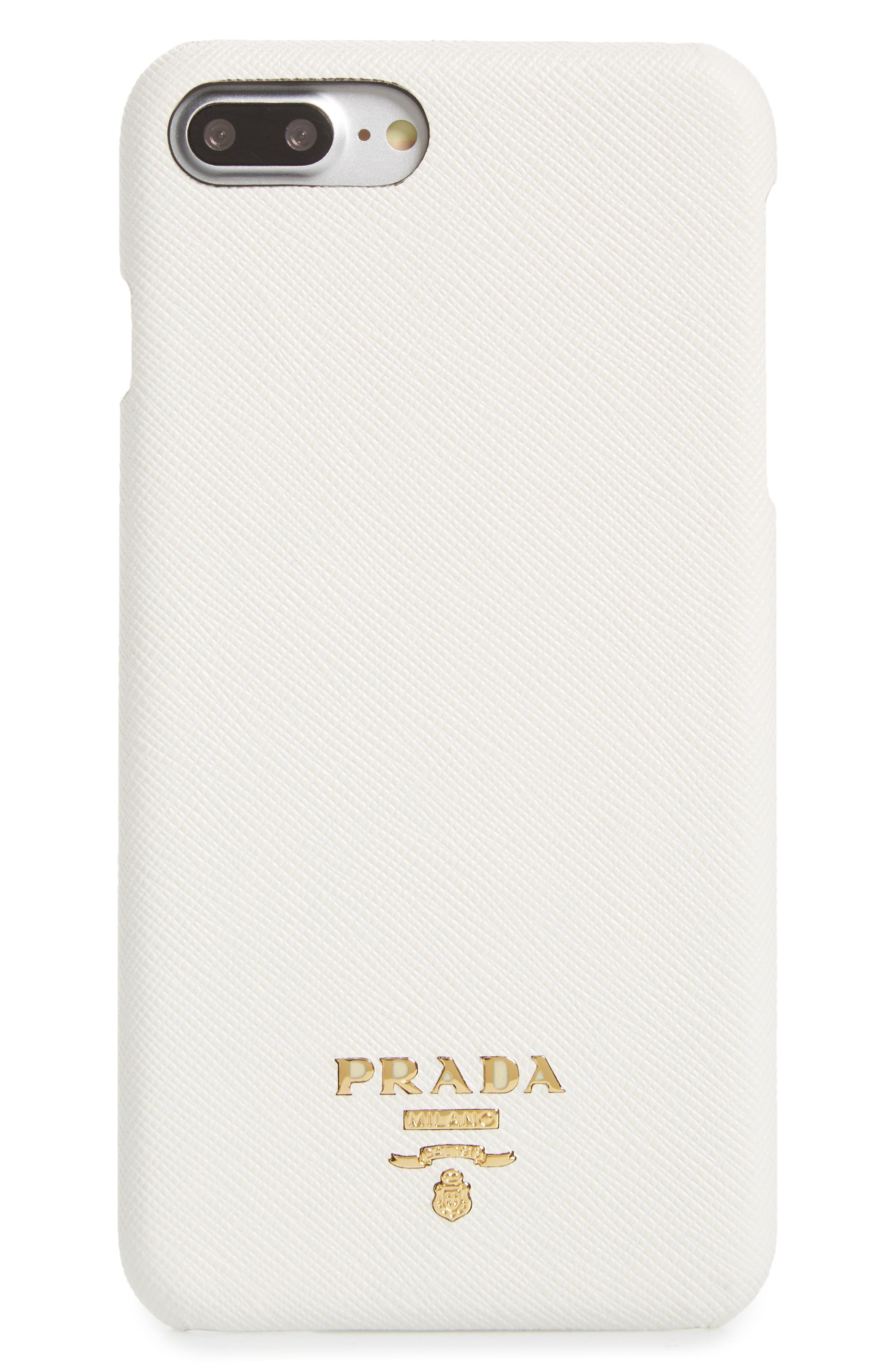 Saffiano Metal Oro iPhone 7/8 Plus Case,                             Main thumbnail 3, color,