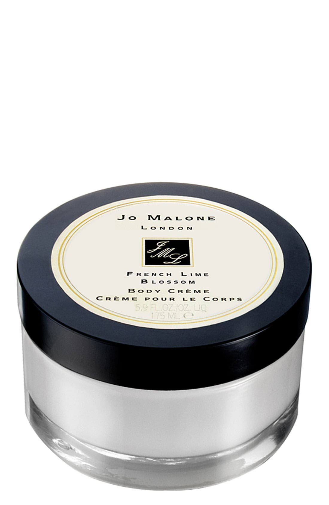 JO MALONE LONDON<SUP>™</SUP>,                             Jo Malone<sup>™</sup> 'French Lime Blossom' Body Crème,                             Main thumbnail 1, color,                             000