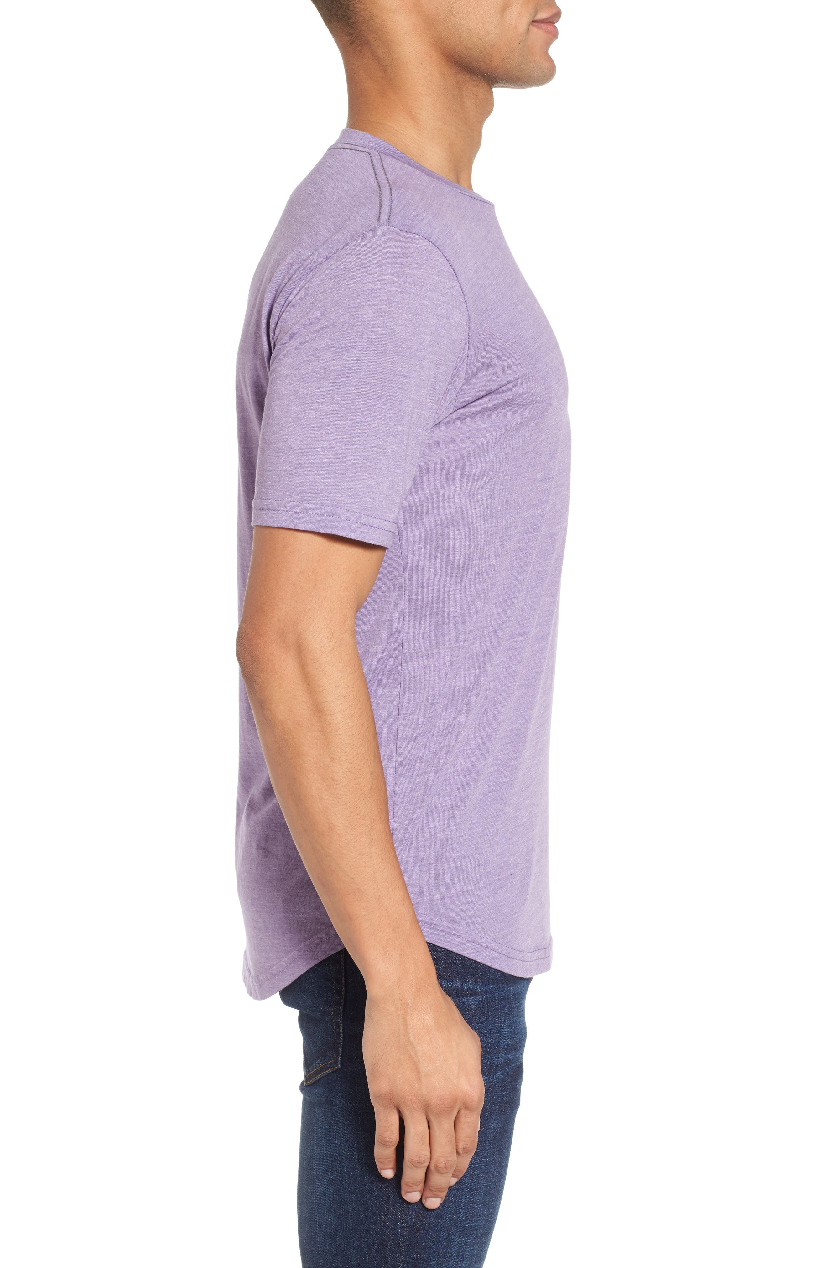 Scallop Triblend Crewneck T-Shirt,                             Alternate thumbnail 57, color,
