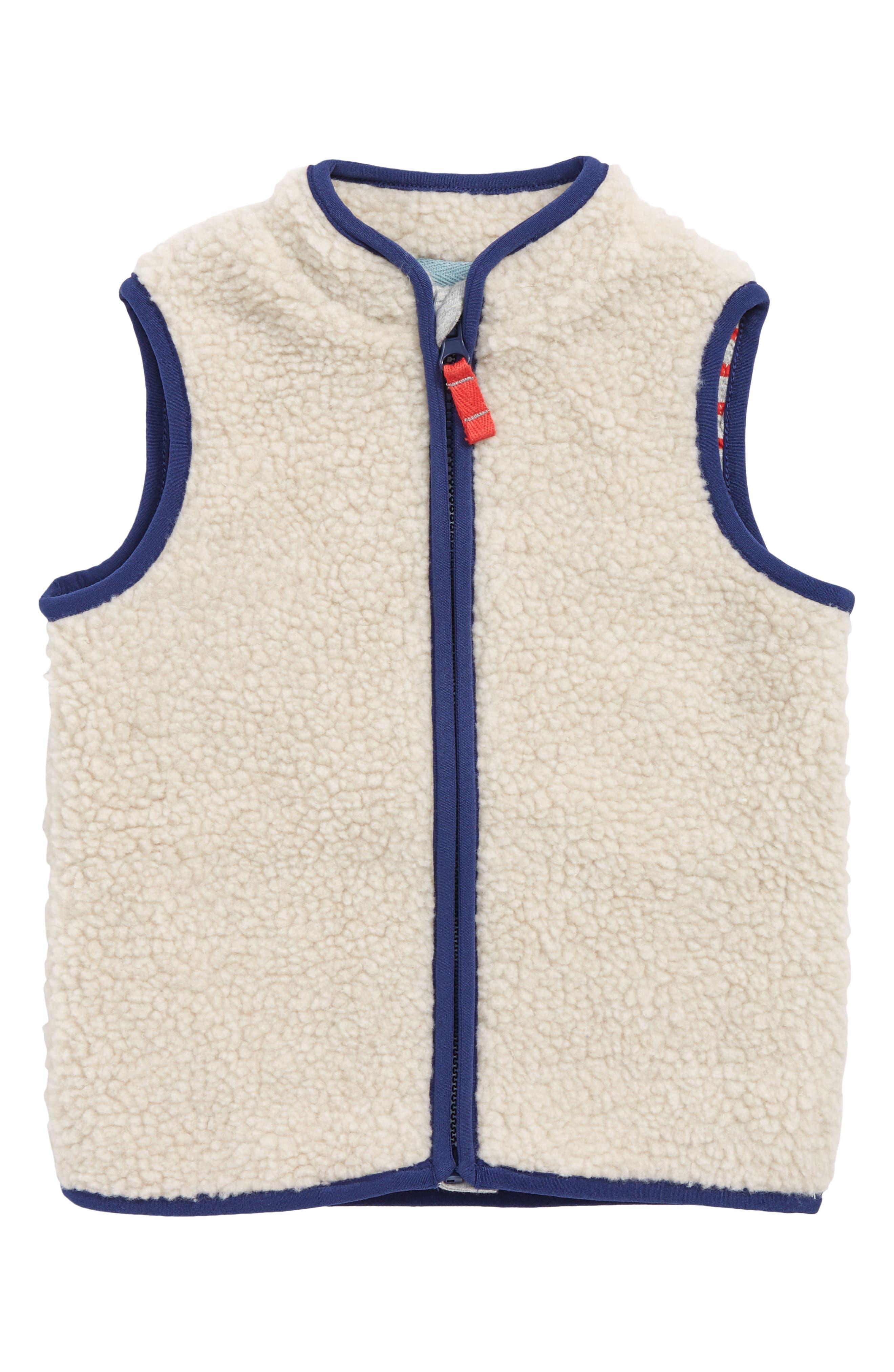 Cosy Borg Fleece Vest,                             Main thumbnail 1, color,                             251