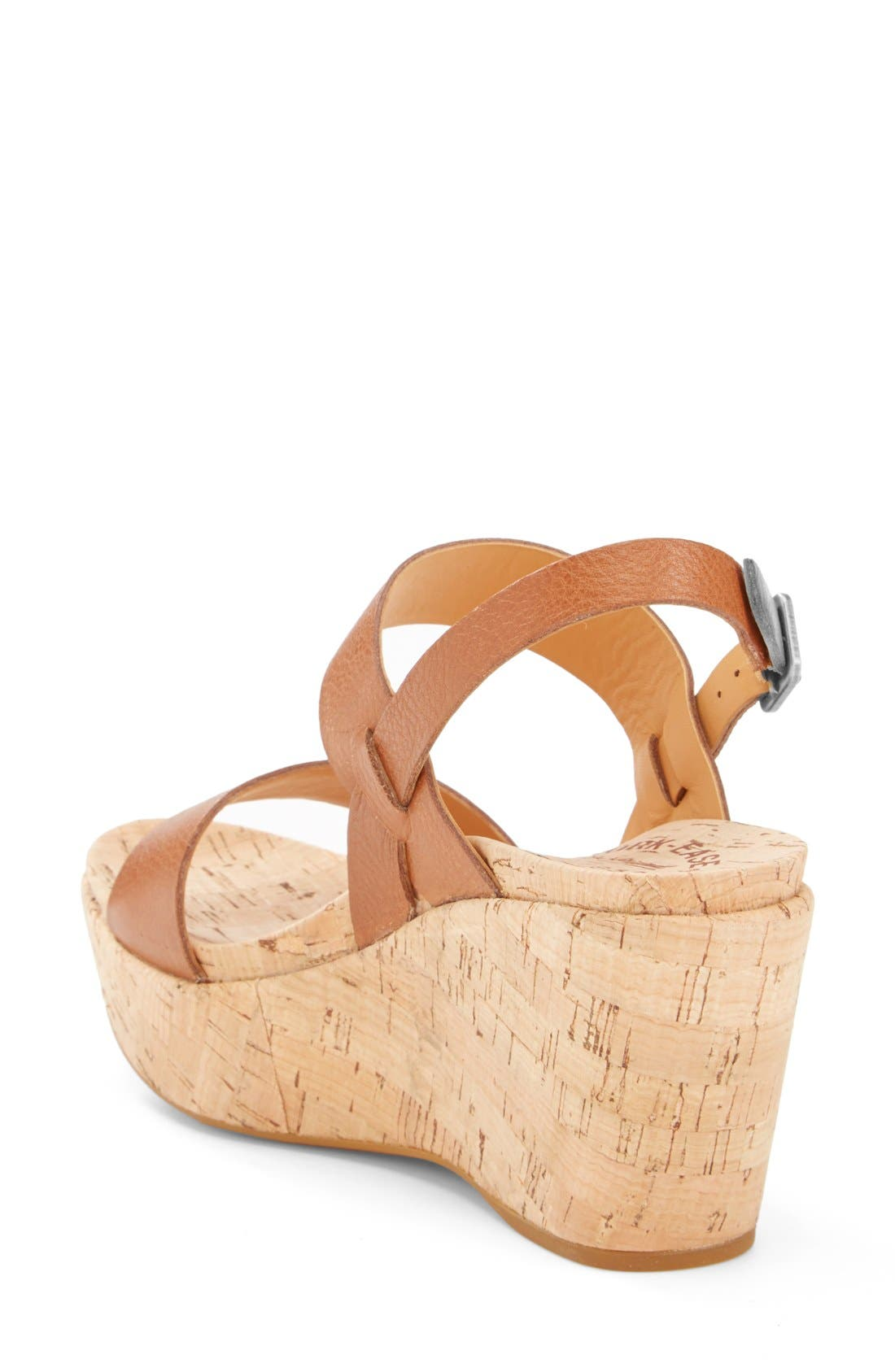 'Austin' Slingback Wedge Sandal,                             Alternate thumbnail 17, color,