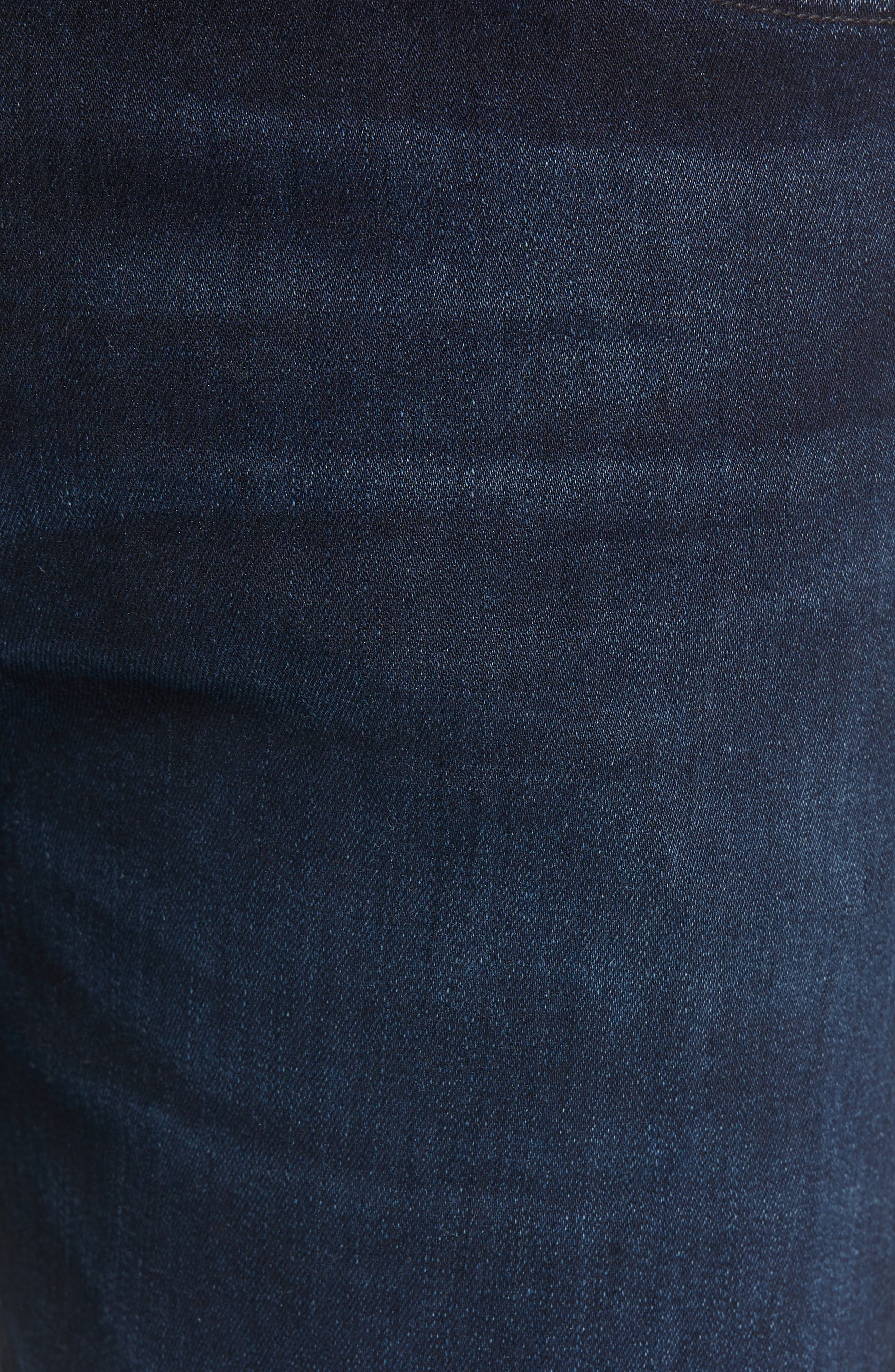 Bowery Slim Fit Jeans,                             Alternate thumbnail 5, color,                             407
