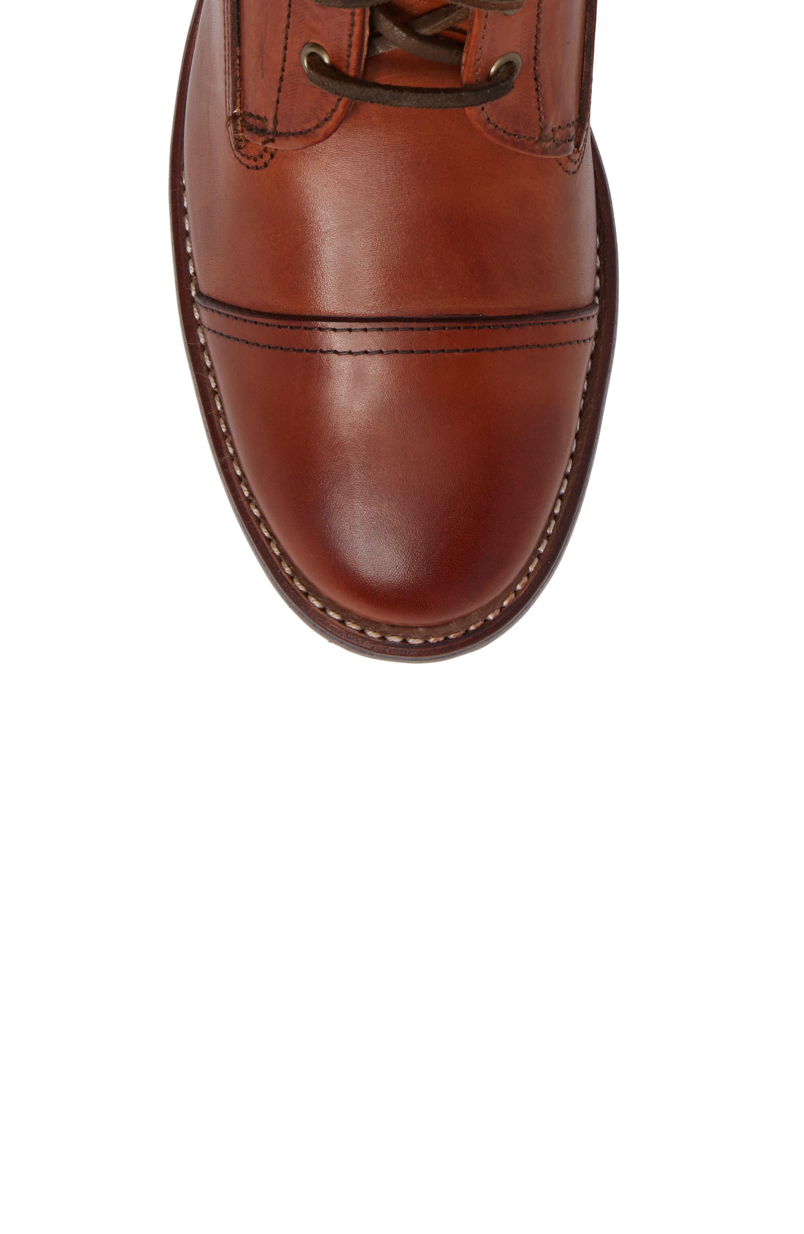 Highlands Cap Toe Boot,                             Alternate thumbnail 5, color,
