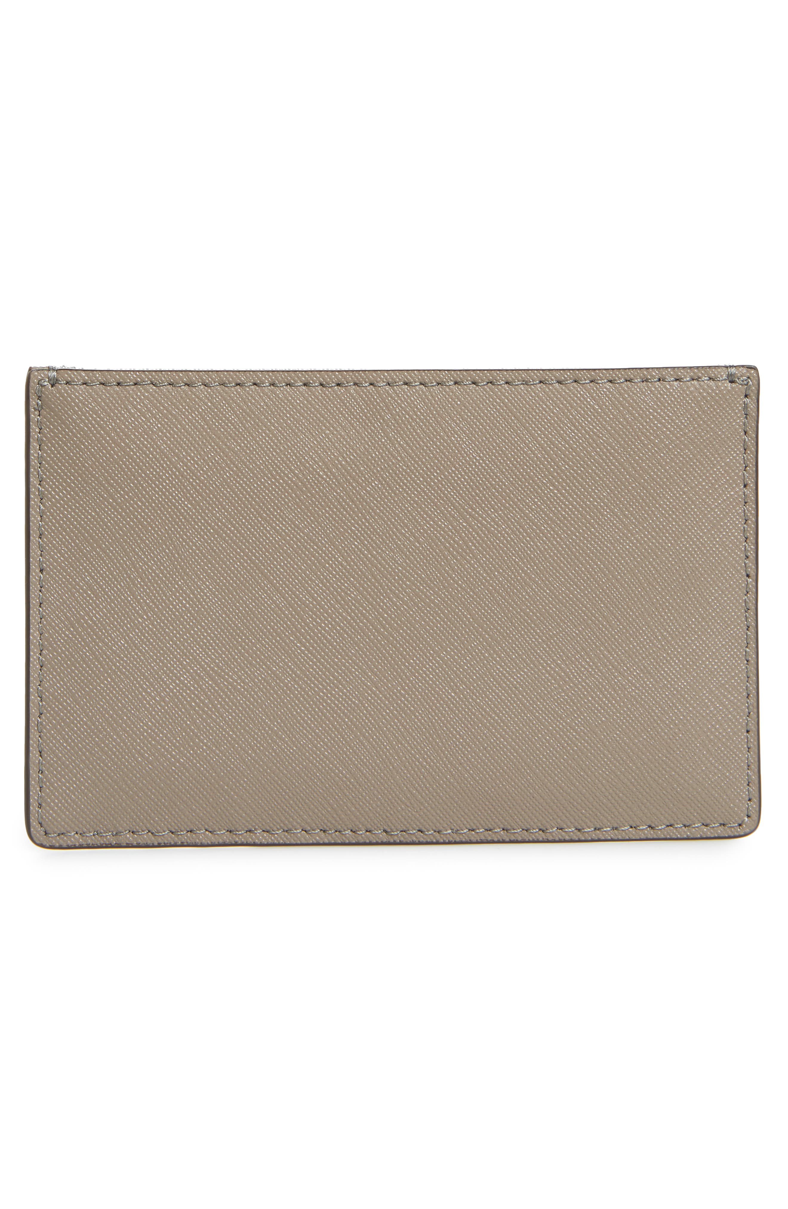 Robinson Leather Card Case,                             Alternate thumbnail 2, color,                             GRAY HERON