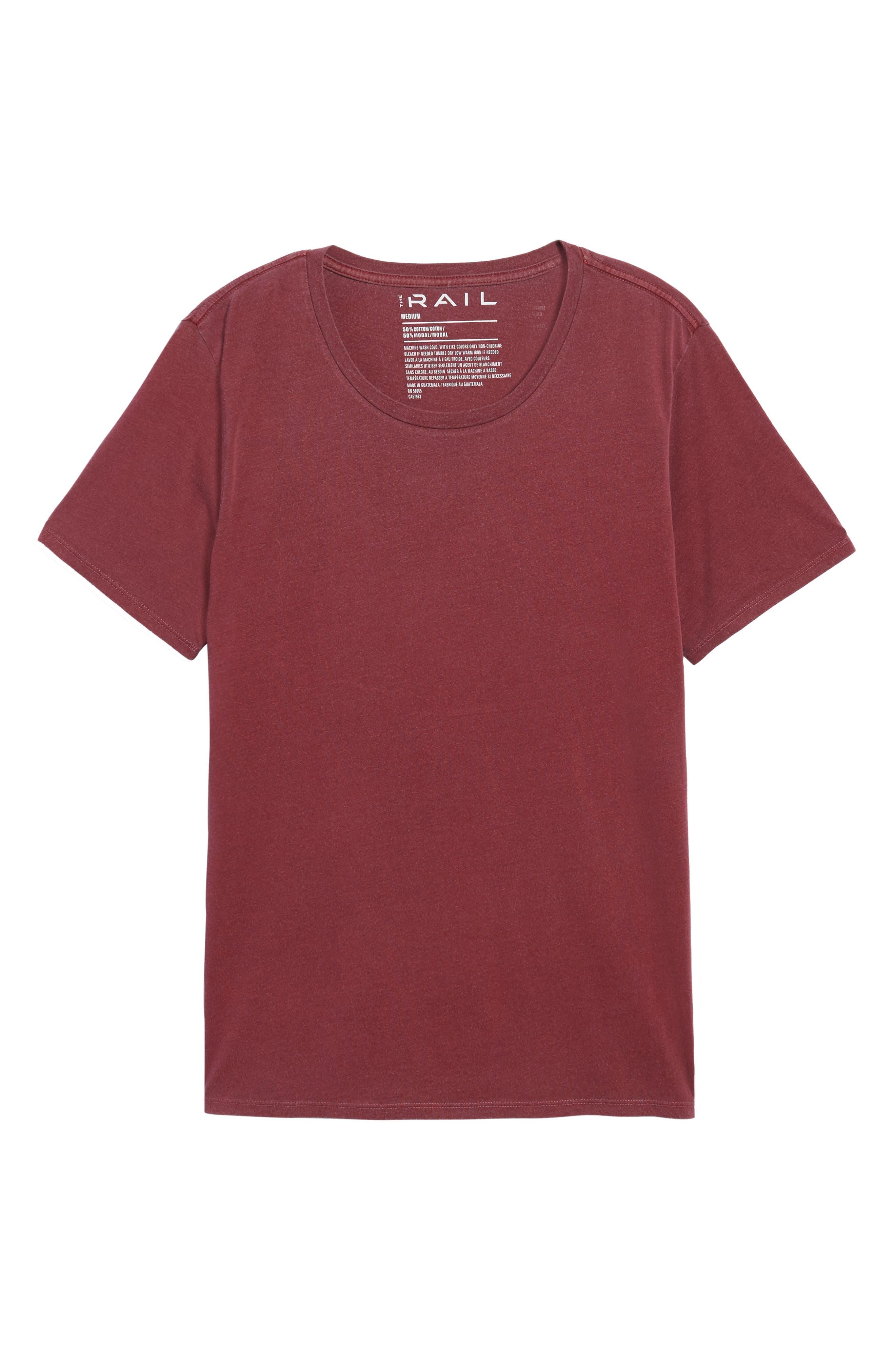 Slim Fit Scoop Neck T-Shirt,                             Alternate thumbnail 12, color,