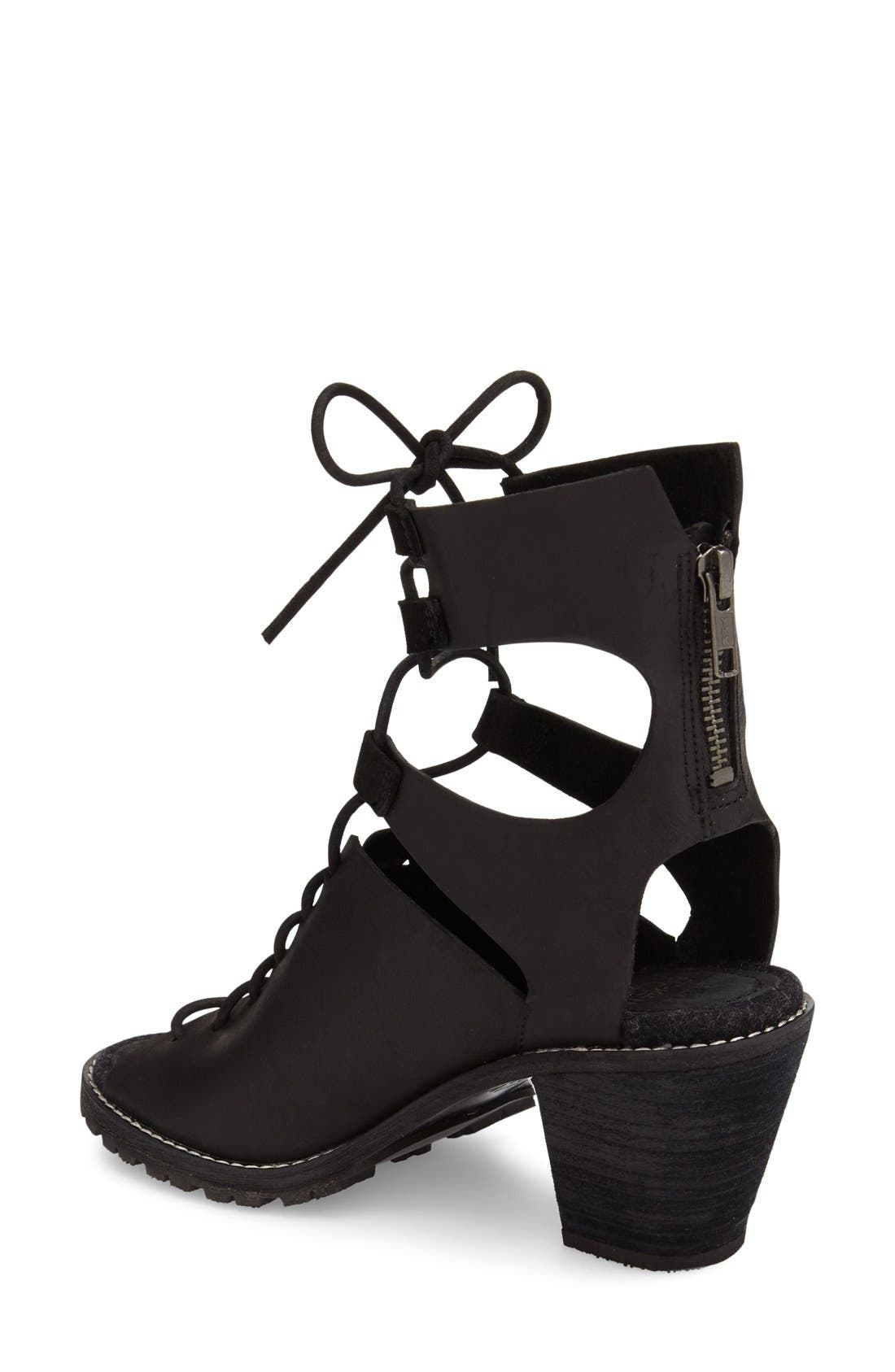 'Mohave Arroyo' Lace-Up Boot,                             Alternate thumbnail 7, color,