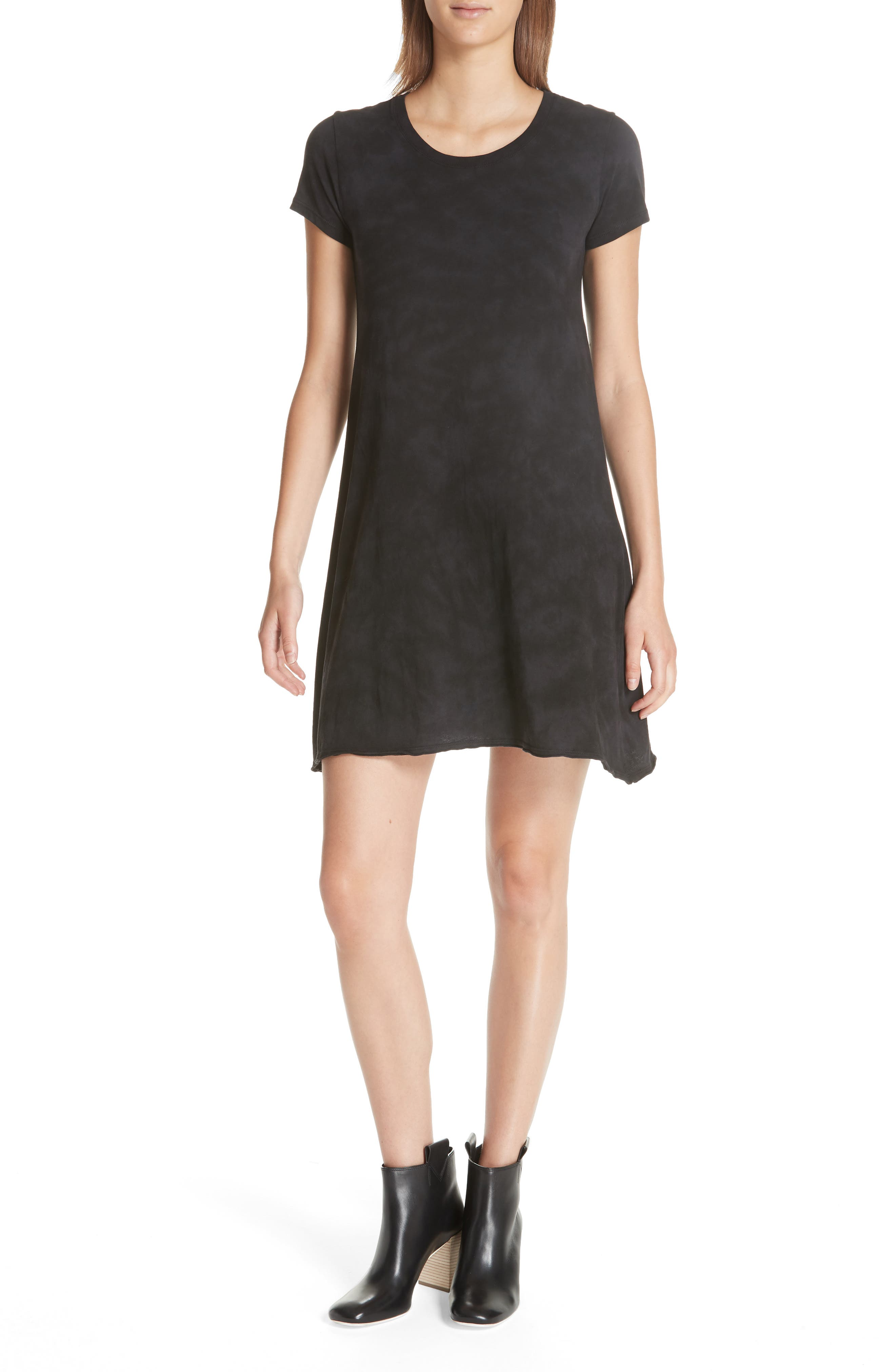 Atm Anthony Thomas Melillo Soda Wash Cotton Dress, Black