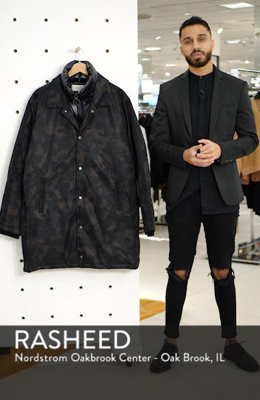 Garvey Puffer Bib Camo Jacket, sales video thumbnail
