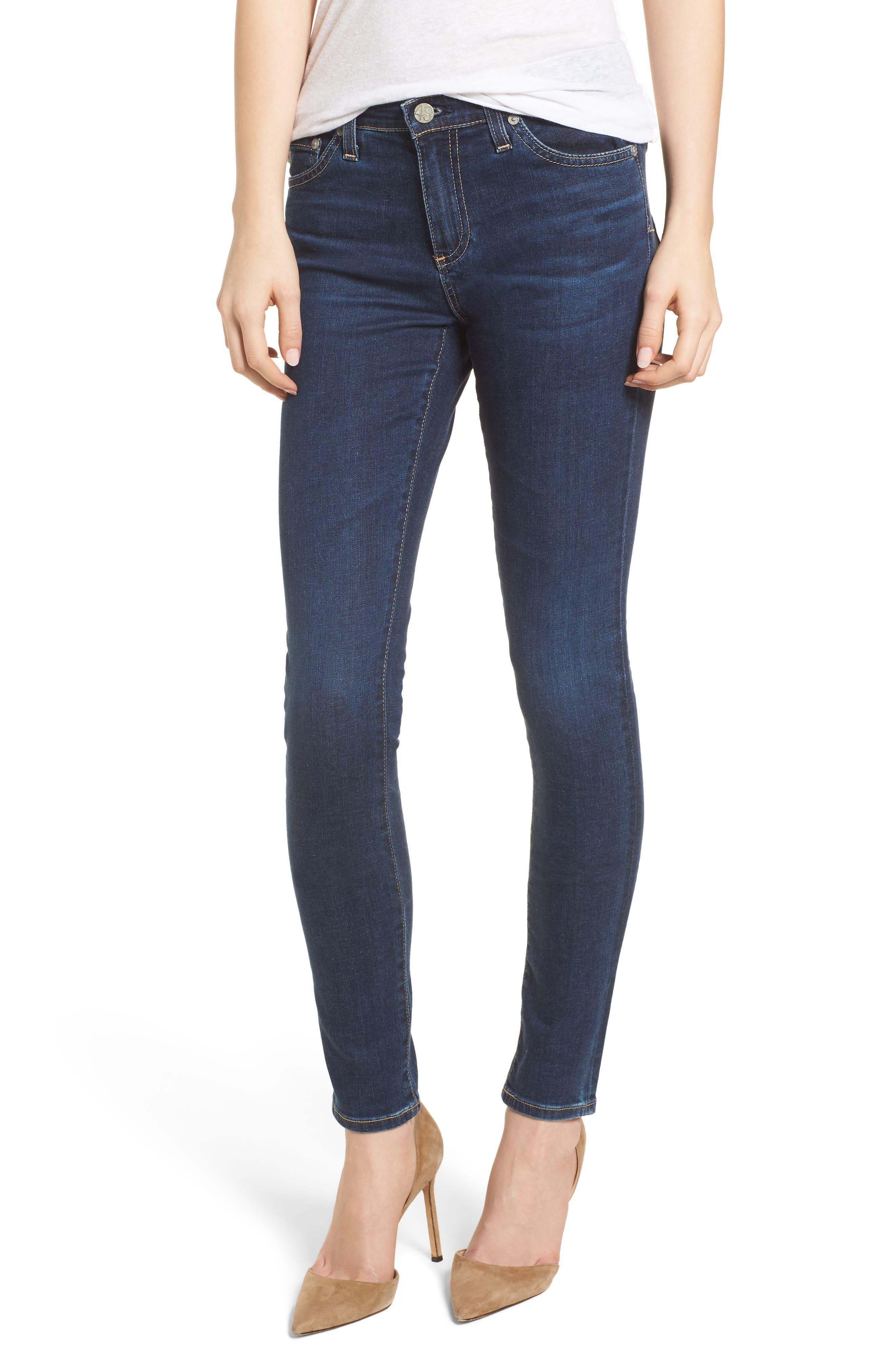 'The Legging' Super Skinny Jeans,                             Main thumbnail 2, color,
