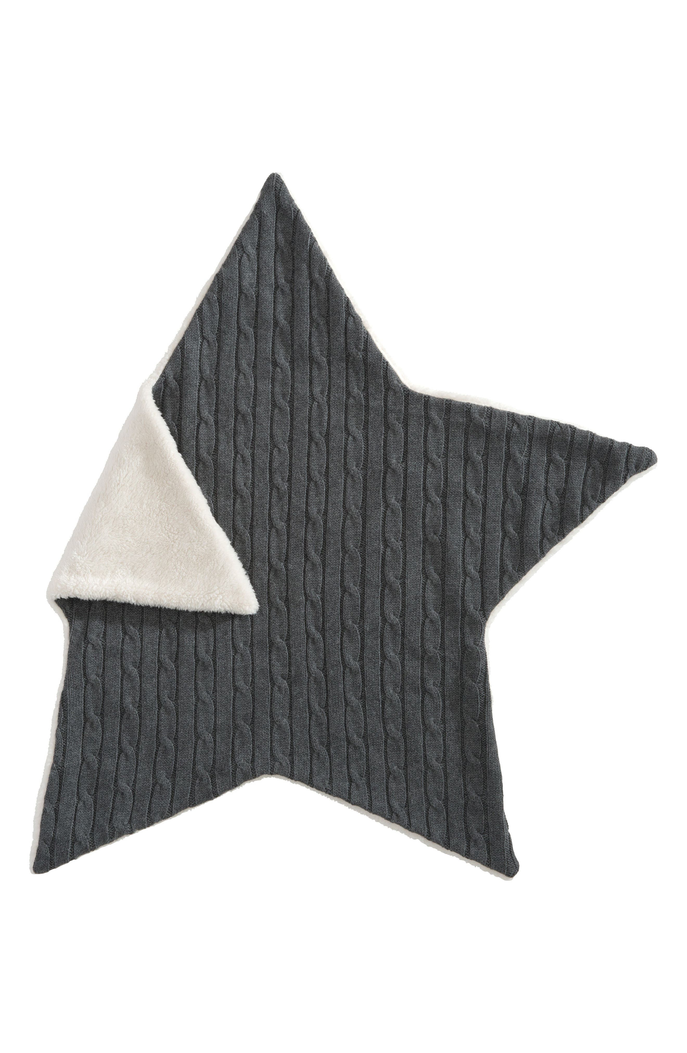 Cable Knit Star Blanket,                             Alternate thumbnail 2, color,                             020