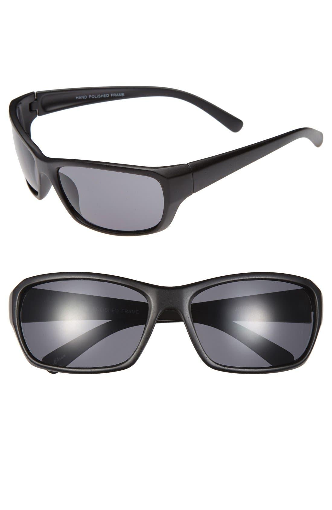 'Max' 62mm Sunglasses,                             Main thumbnail 1, color,                             001