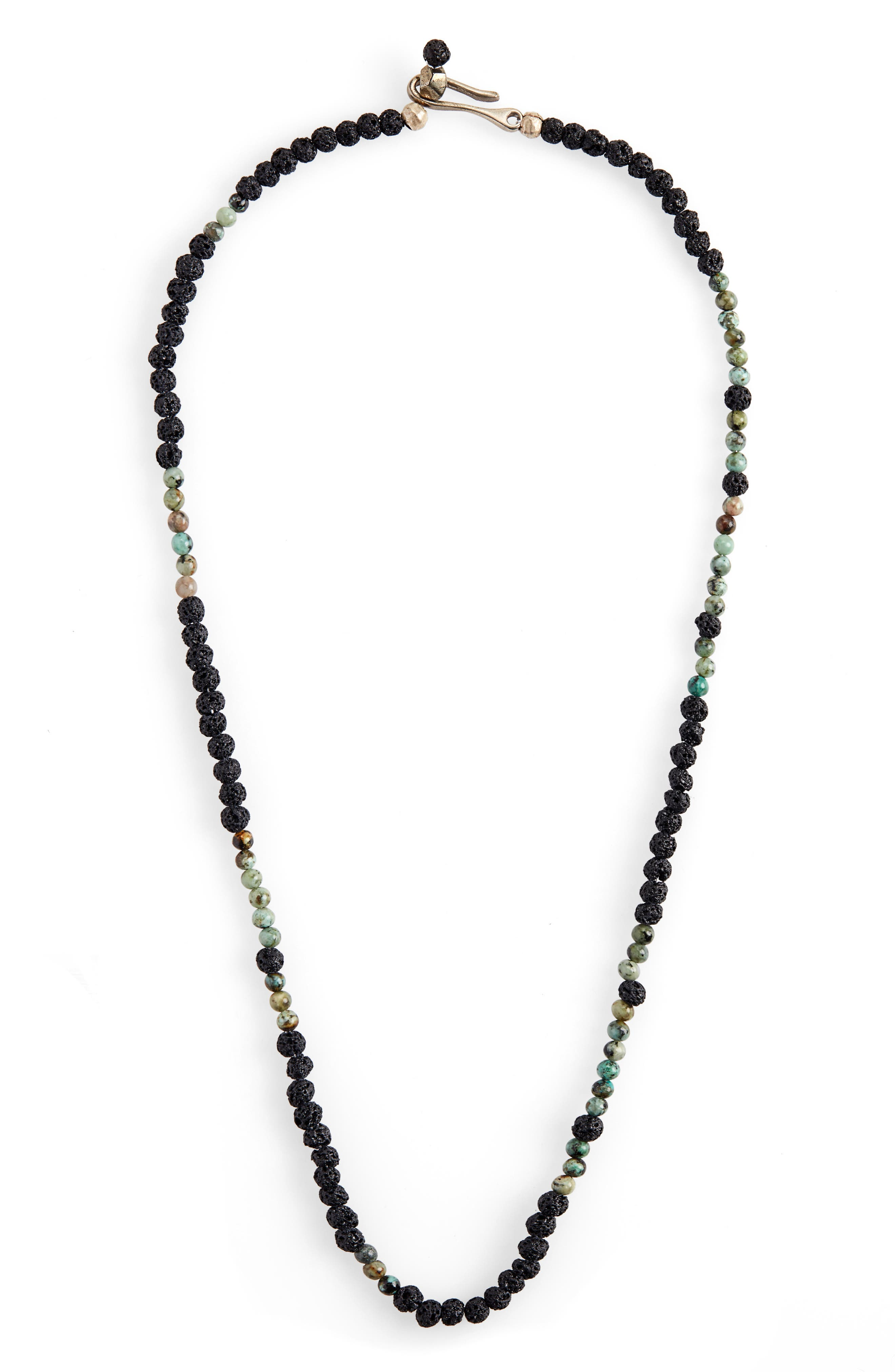 Morse Create Necklace,                         Main,                         color, BLACK
