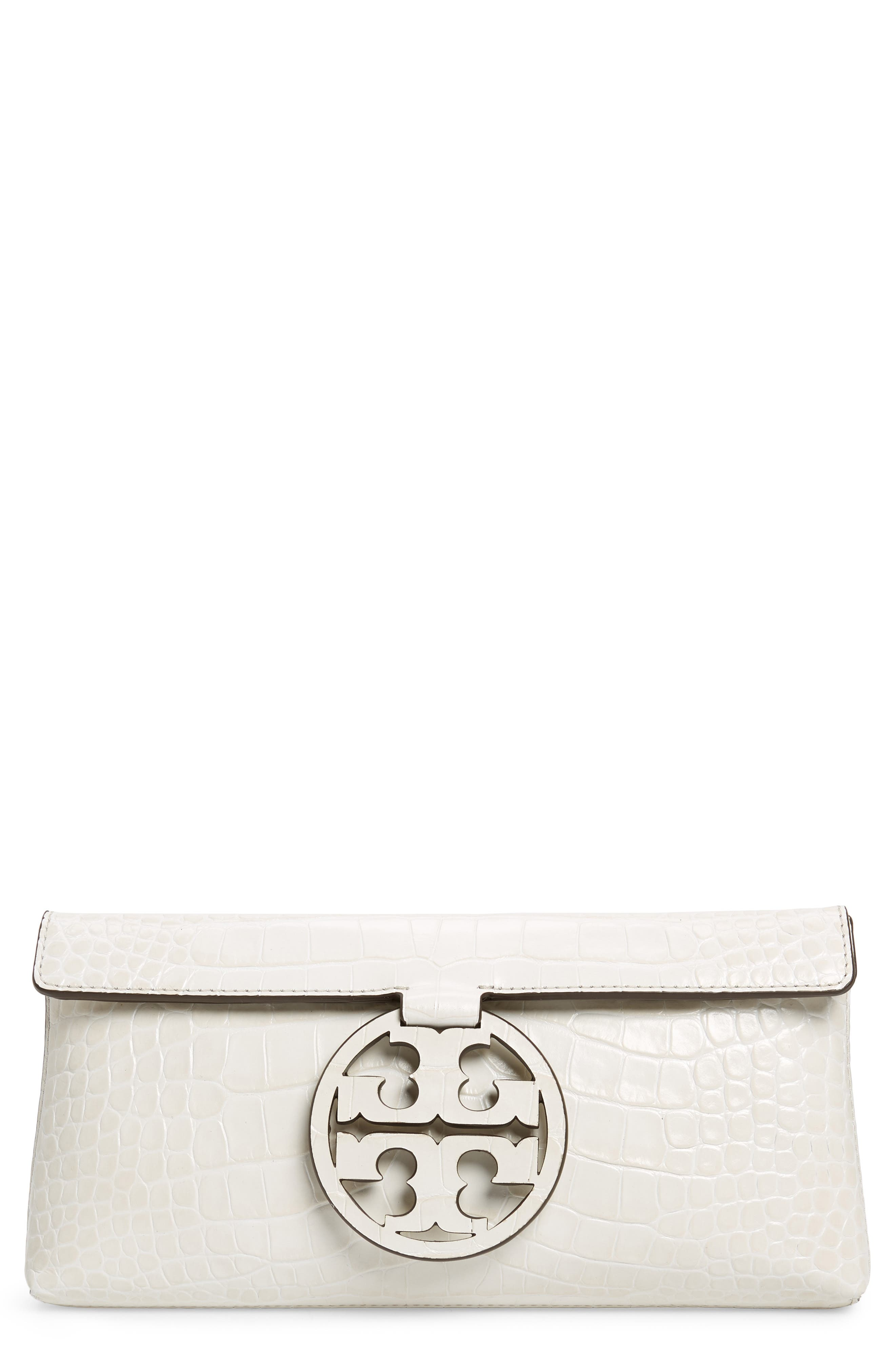 Miller Embossed Clutch,                             Main thumbnail 1, color,                             100