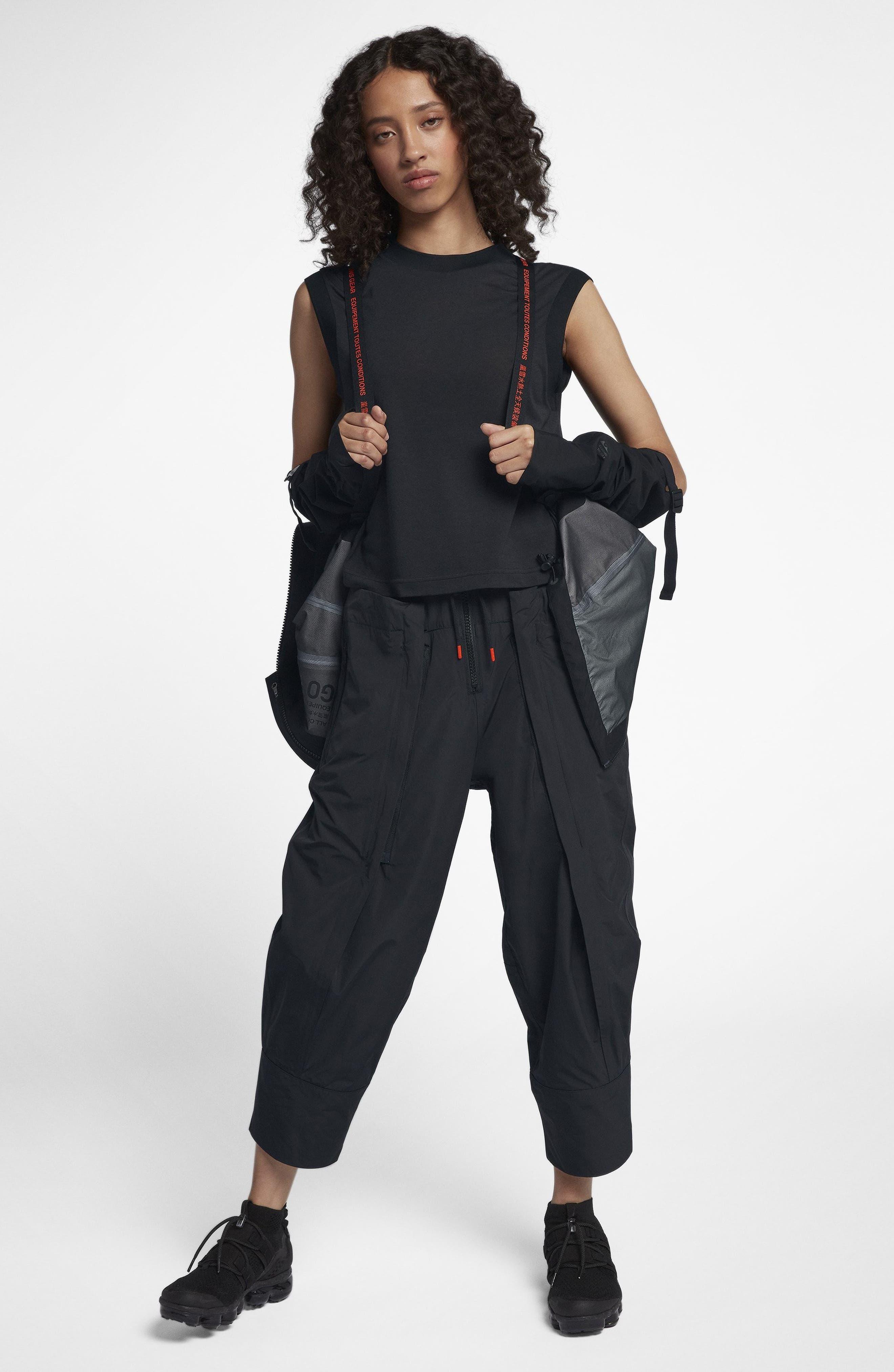 NikeLab ACG Gore-Tex<sup>®</sup> Women's Jacket,                             Alternate thumbnail 9, color,                             010