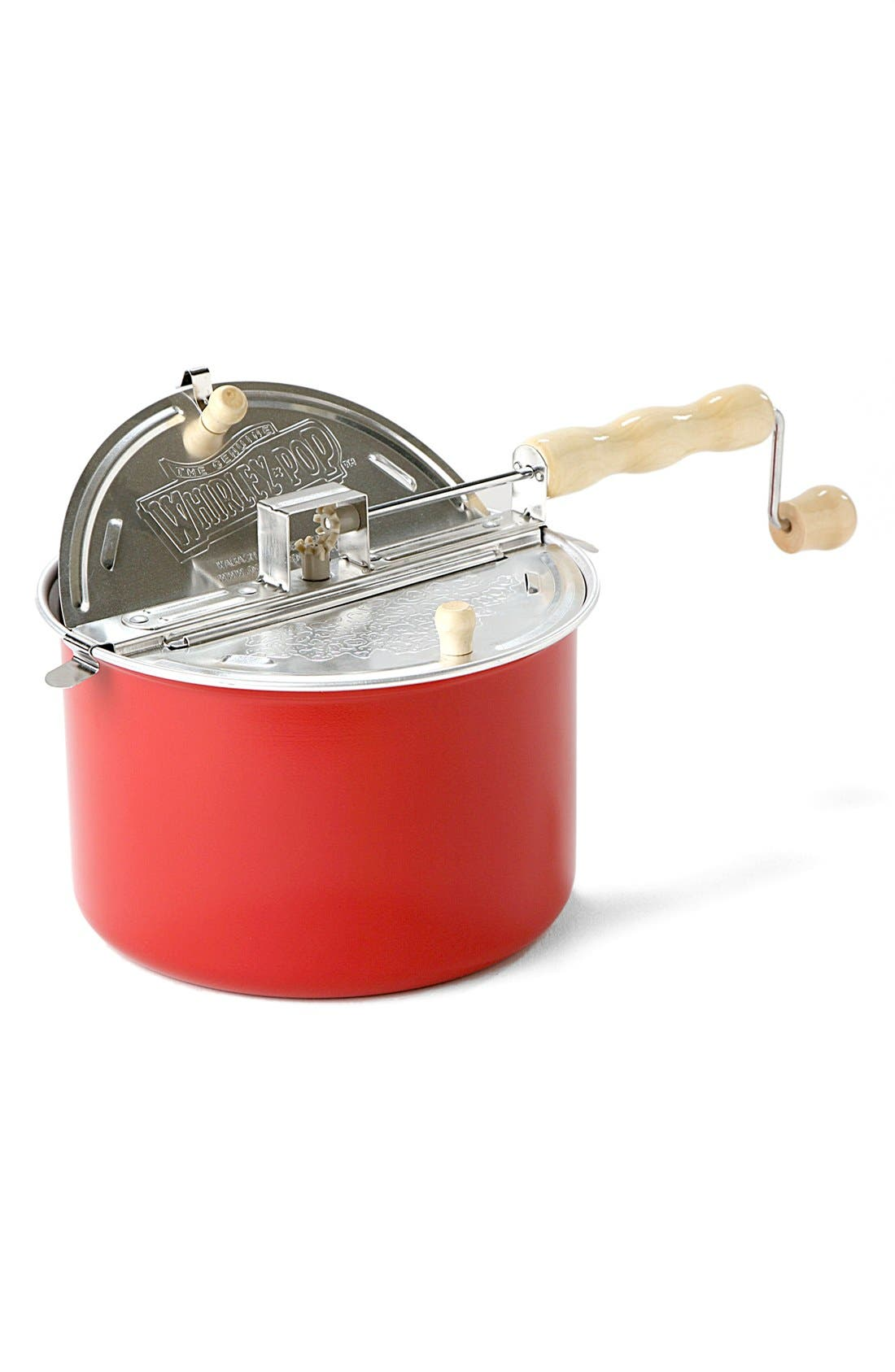 'Whirley Pop' Hand Crank Stovetop Popcorn Popper, Main, color, 600
