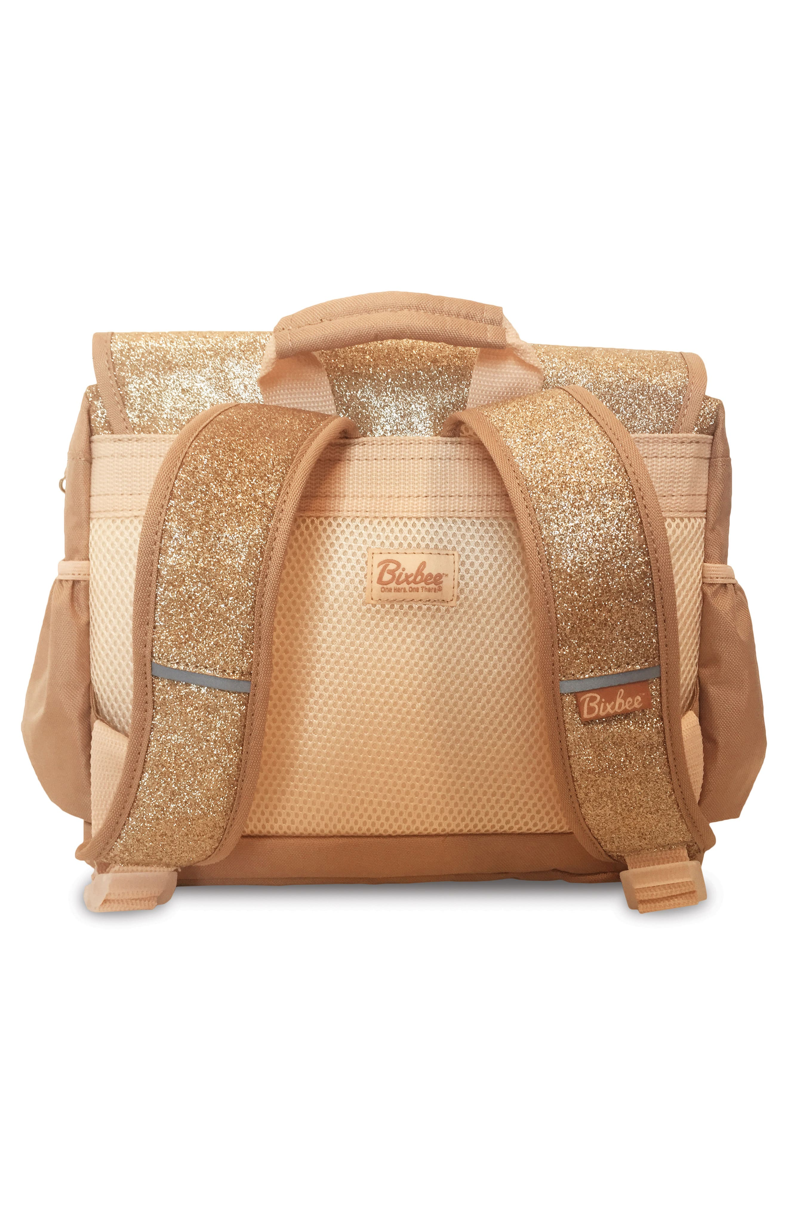 Gold Sparkalicious Water Resistant Backpack,                             Alternate thumbnail 2, color,                             710