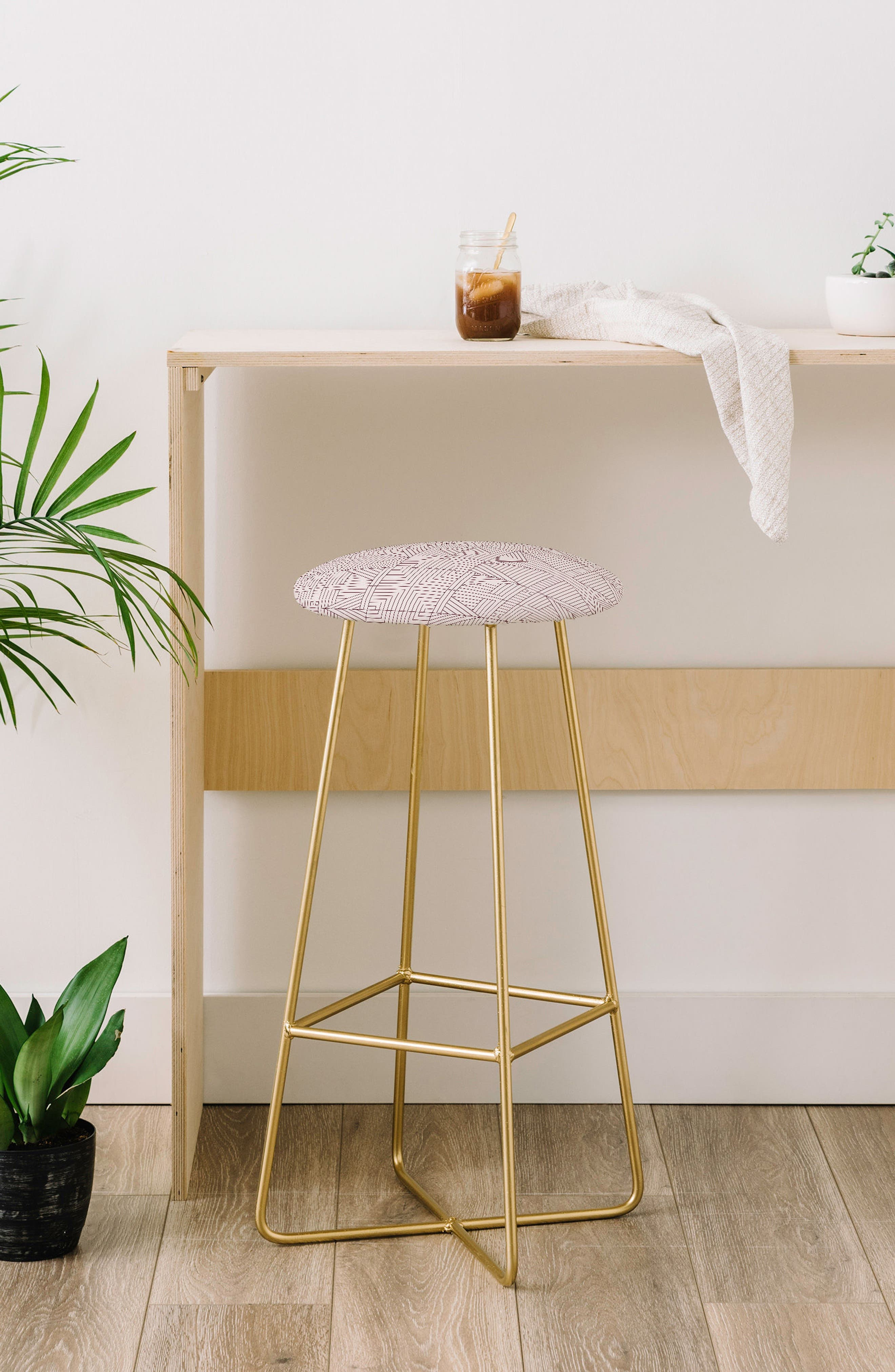 Print Bar Stool,                             Alternate thumbnail 7, color,