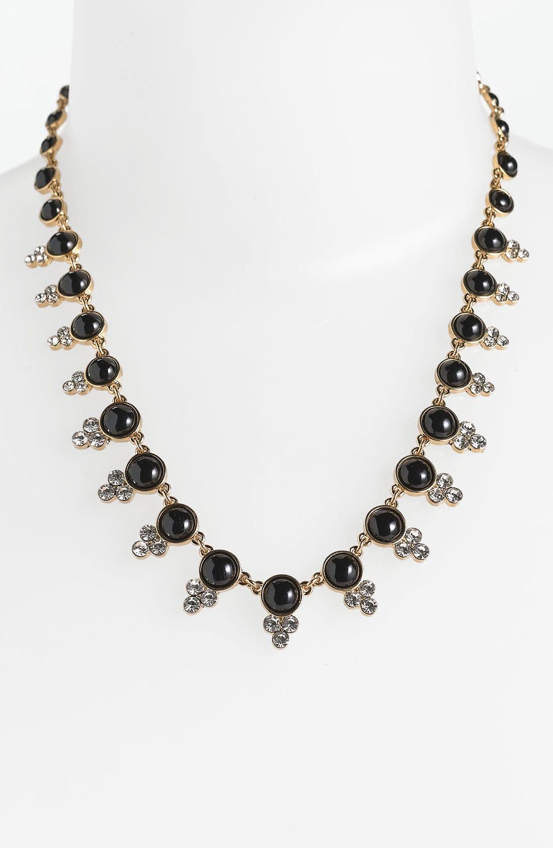 ANNE KLEIN,                             Collar Necklace,                             Main thumbnail 1, color,                             001