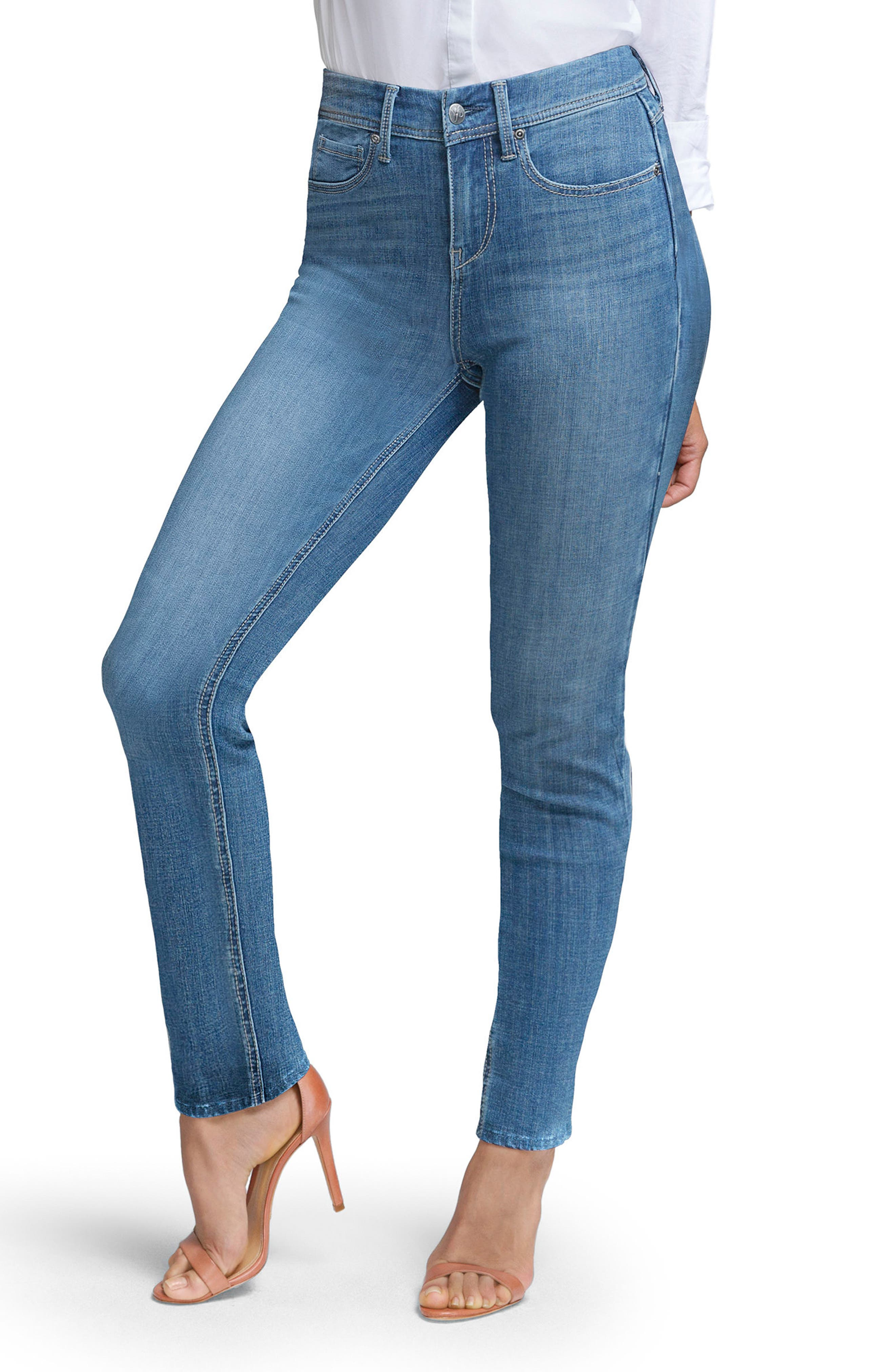 Slim Straight Leg Jeans,                             Main thumbnail 1, color,                             ILIAD