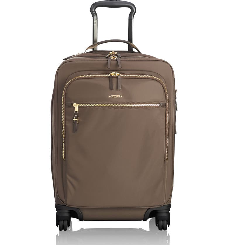 Tumi VOYAGER - TRES LEGER INTERNATIONAL 21-INCH NYLON SPINNER CARRY-ON - BROWN