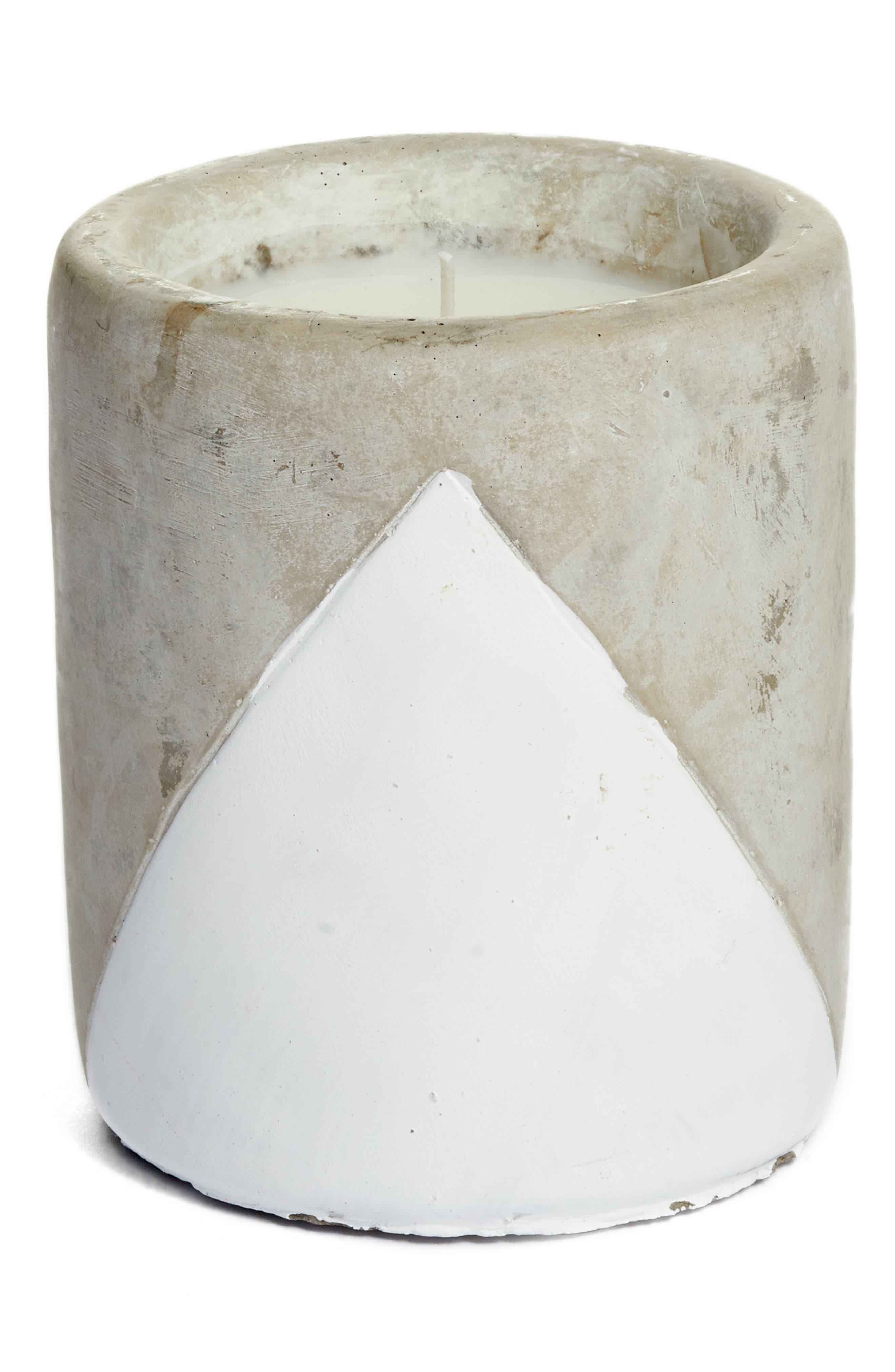 Urban Concrete Soy Wax Candle,                             Main thumbnail 4, color,