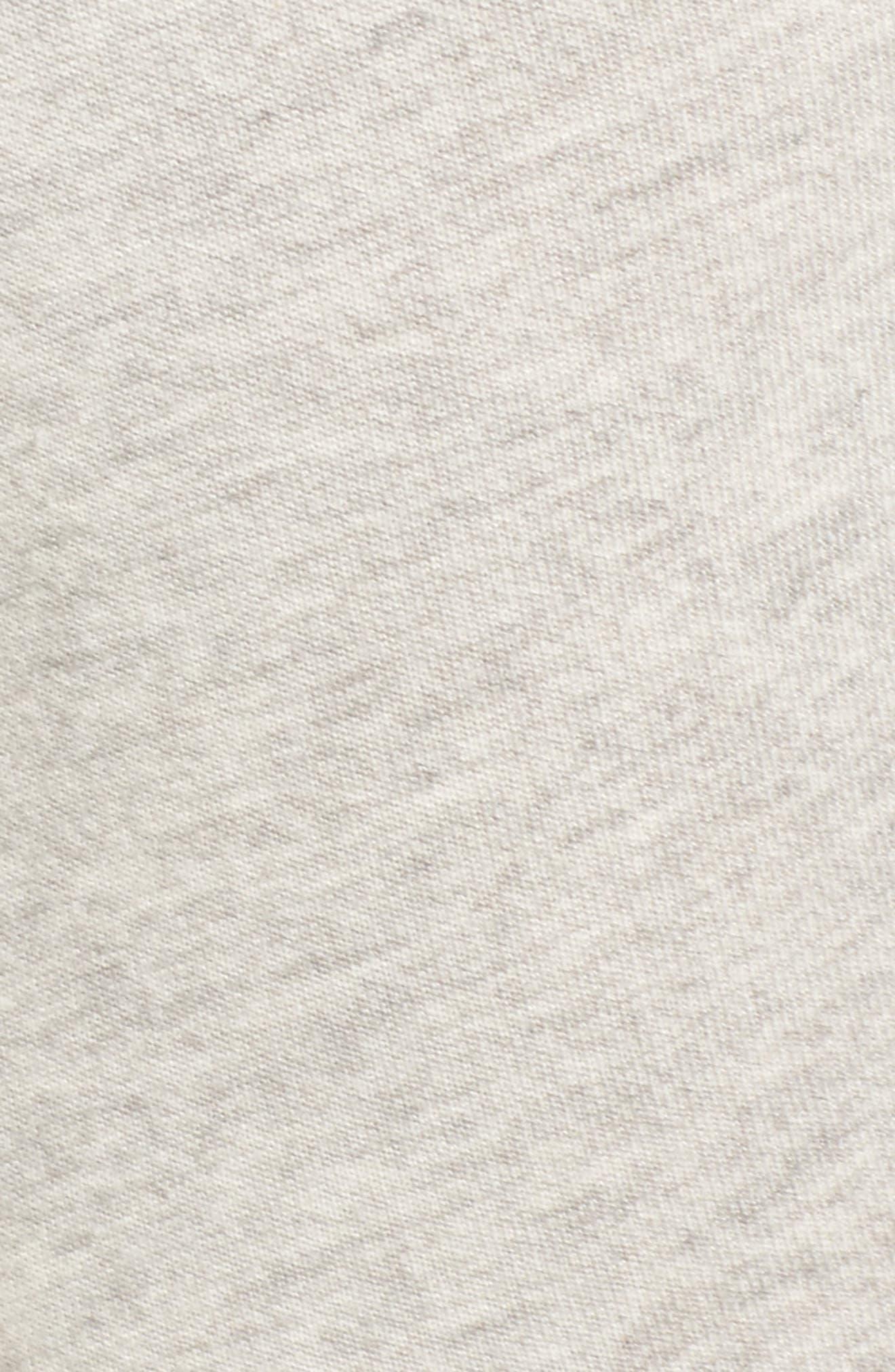 Malibu Slit Knee Sweatpants,                             Alternate thumbnail 5, color,                             030
