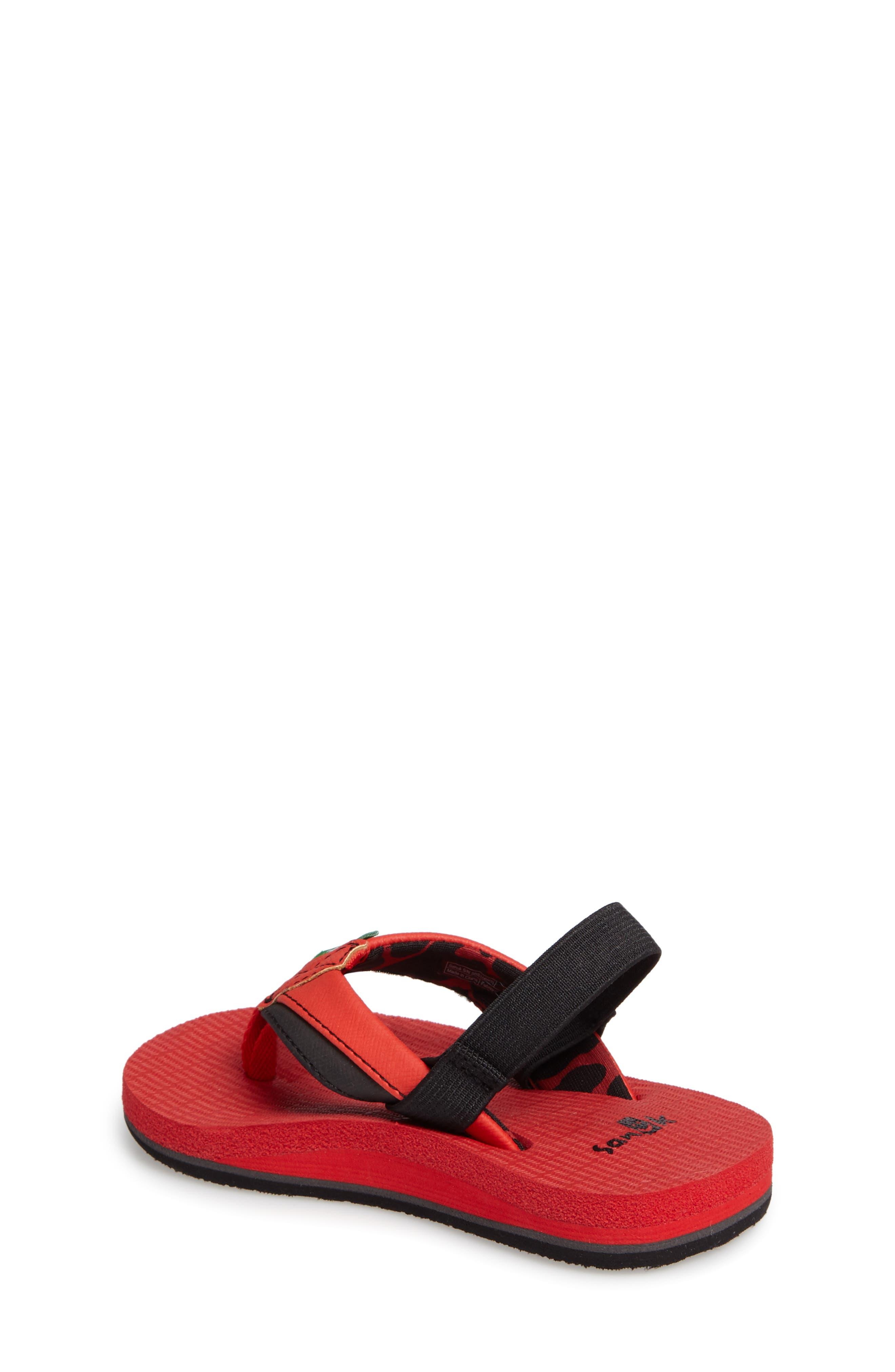 'Rootbeer Cozy' Lightweight Flip Flop Sandal,                             Alternate thumbnail 11, color,