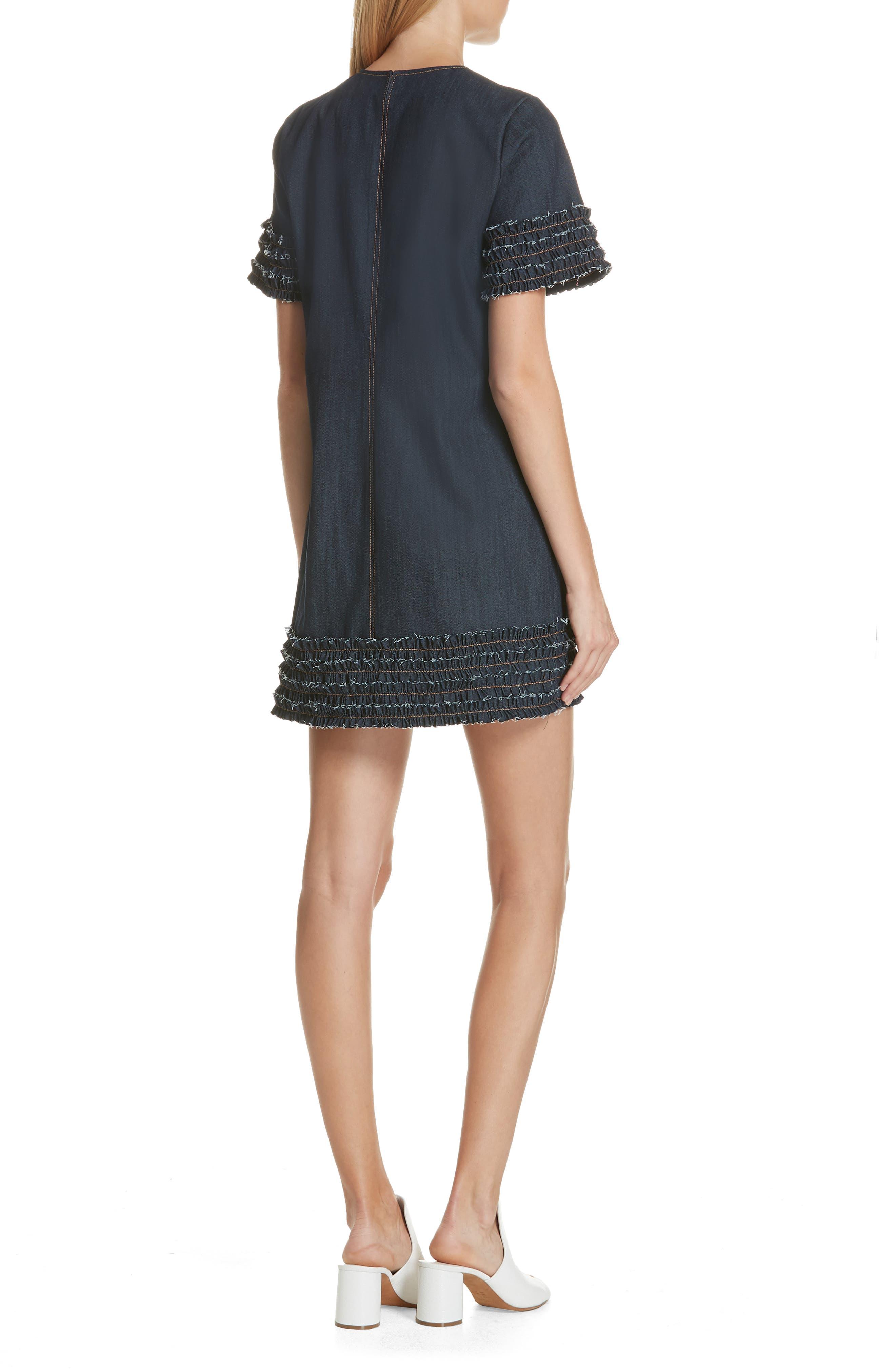Ashton Dress,                             Alternate thumbnail 2, color,                             INDIGO
