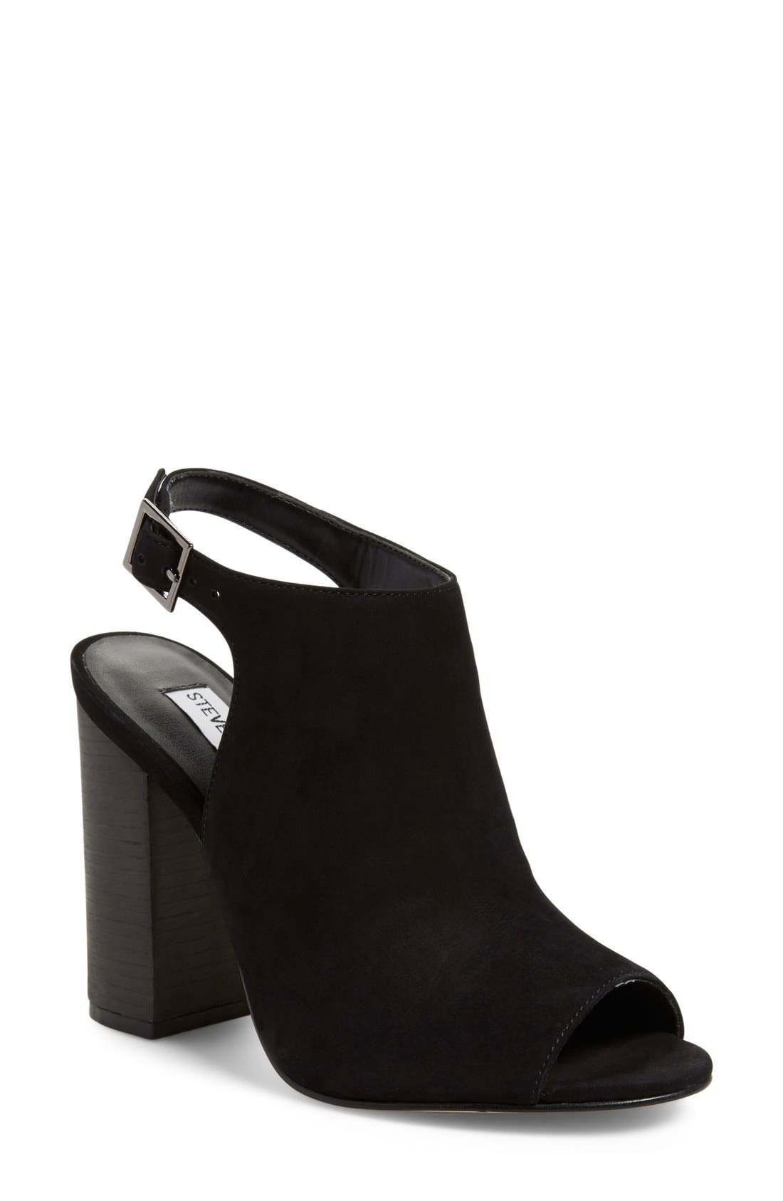 'Claara' Block Heel Sandal,                             Main thumbnail 1, color,                             005