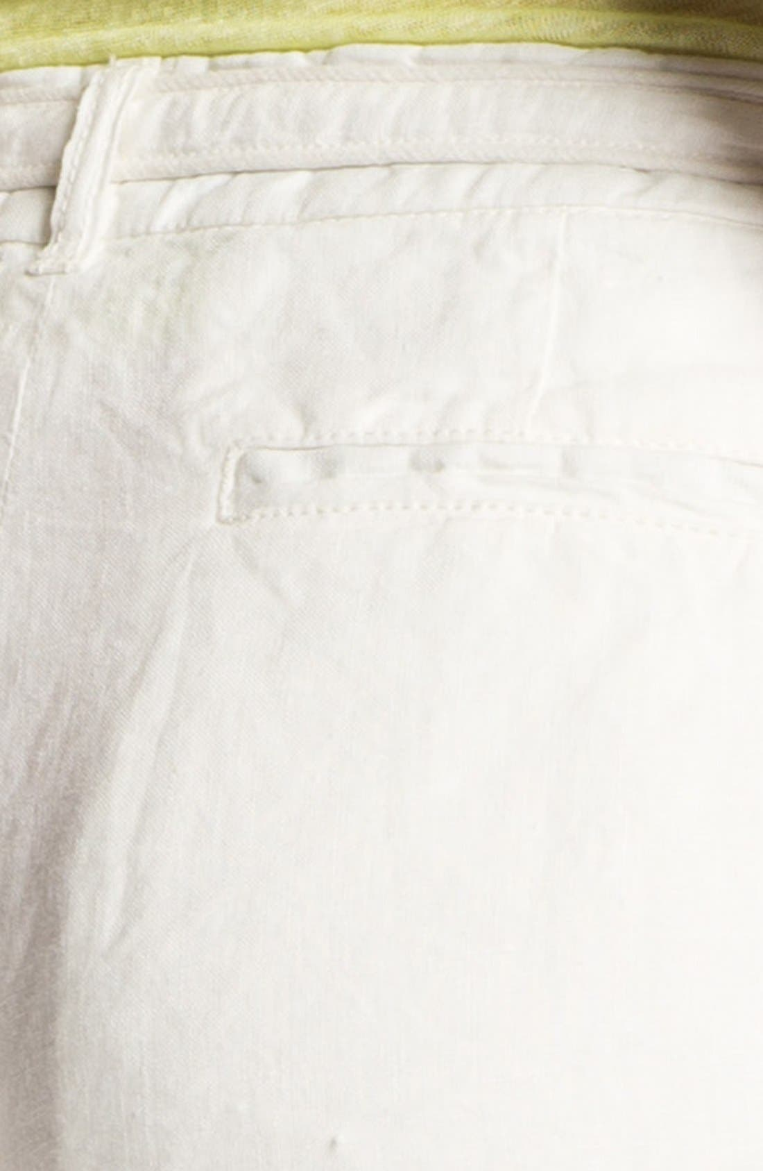 JOIE,                             'Jewell' Linen Shorts,                             Alternate thumbnail 3, color,                             114