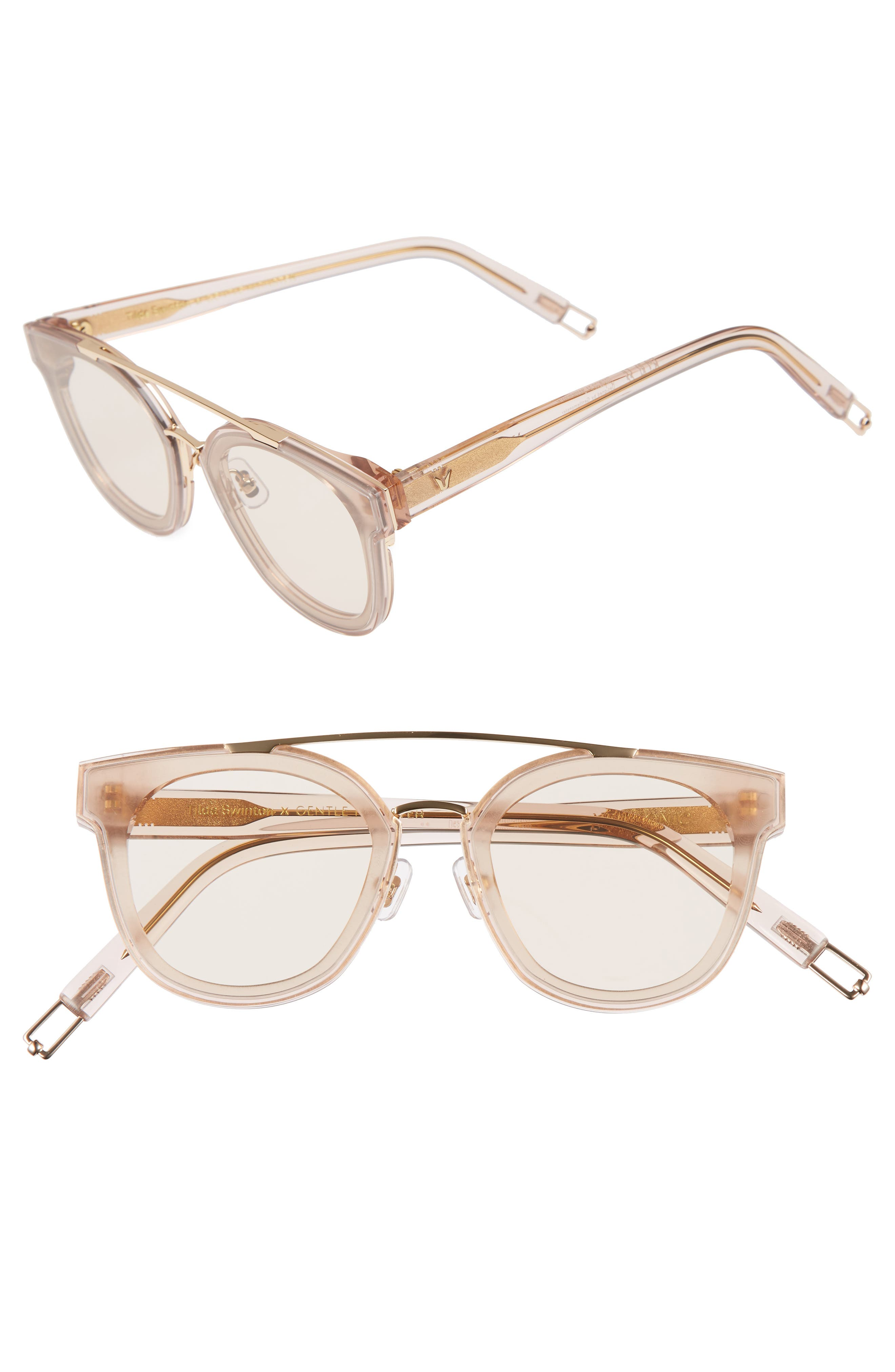Tilda Swinton x Gentle Monster Newtonic 60mm Rounded Sunglasses,                             Main thumbnail 2, color,