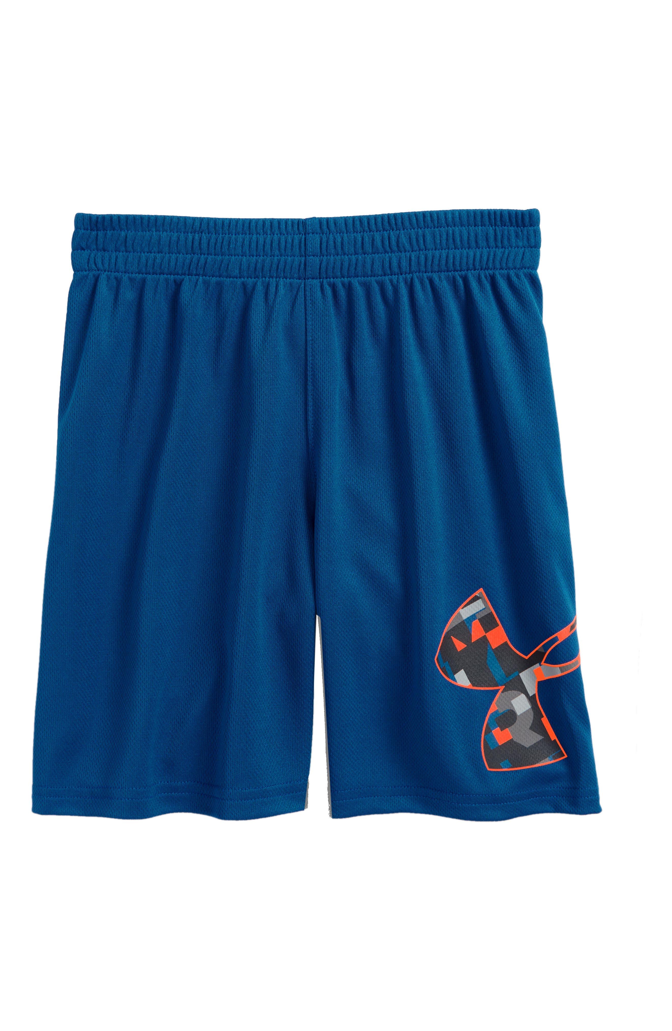 Wordmark Striker HeatGear<sup>®</sup> Shorts,                         Main,                         color, 401