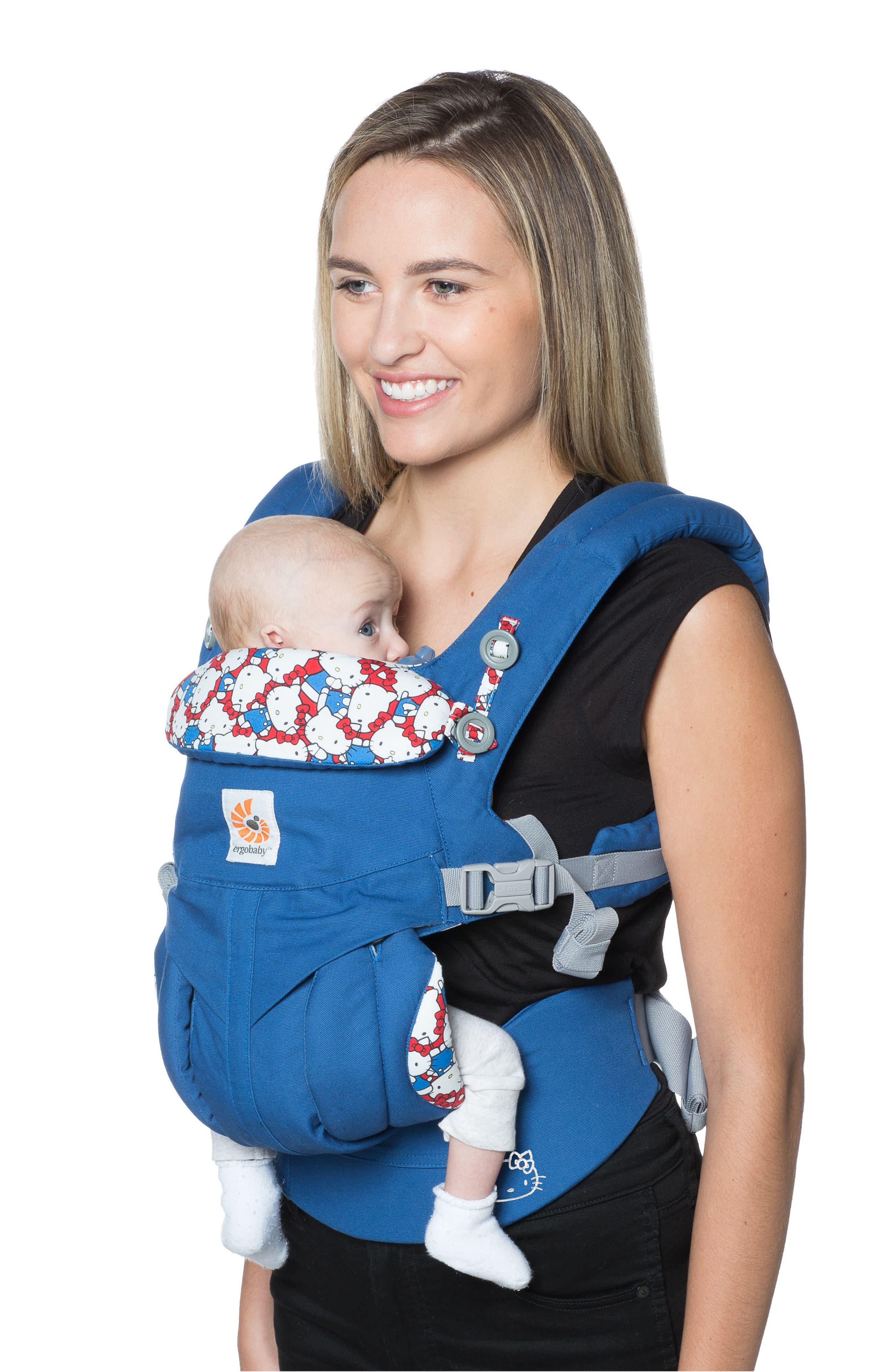 x Hello Kitty<sup>®</sup> Omni 360 Baby Carrier,                             Alternate thumbnail 2, color,                             420