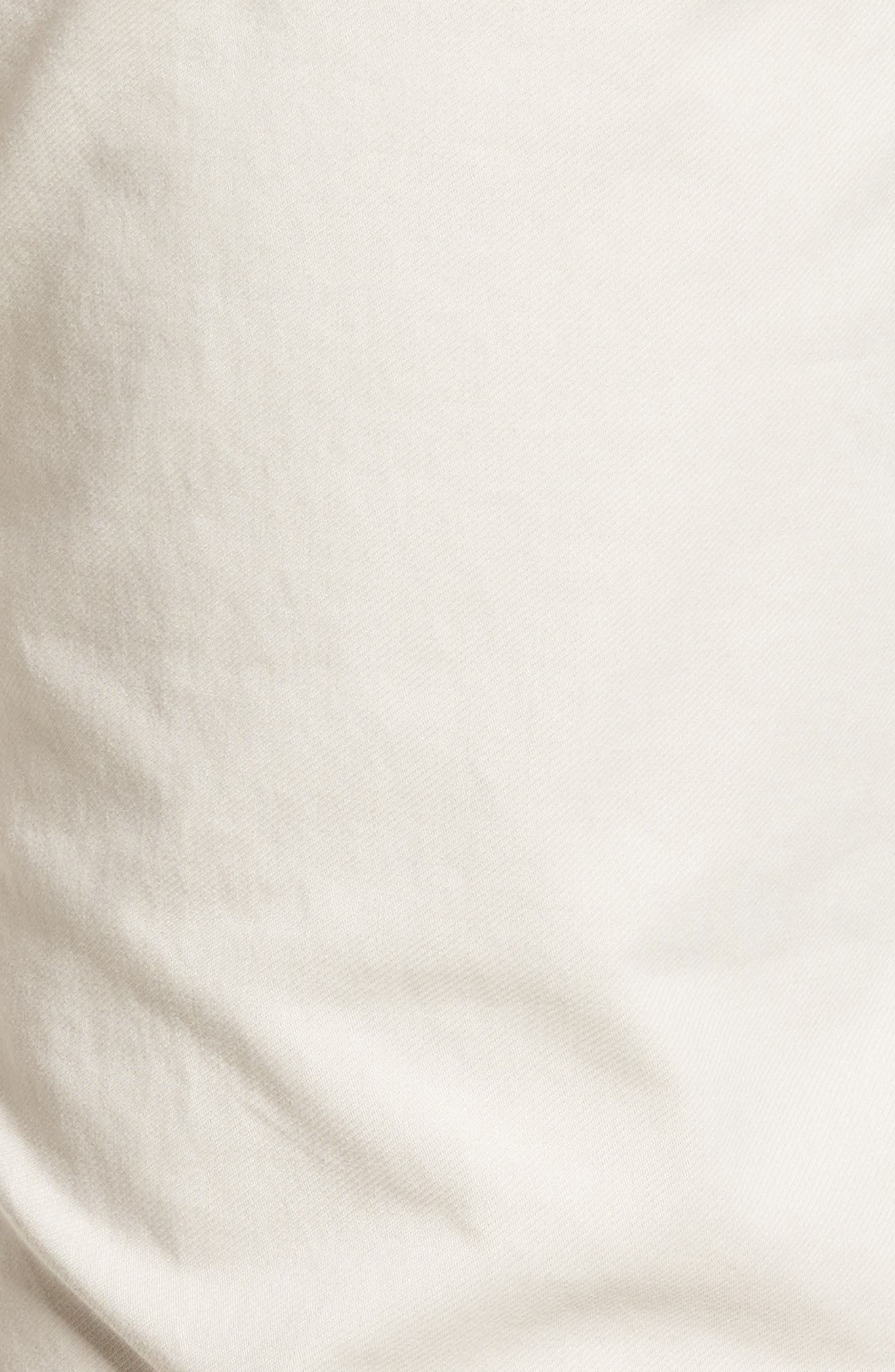 Chuck Flat Front Stretch Cotton Pants,                             Alternate thumbnail 5, color,                             250