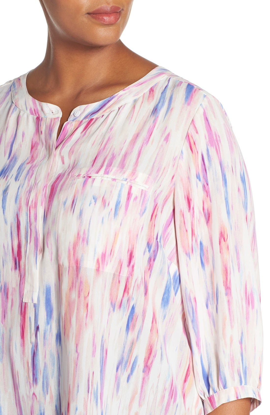 Henley Top,                             Alternate thumbnail 418, color,