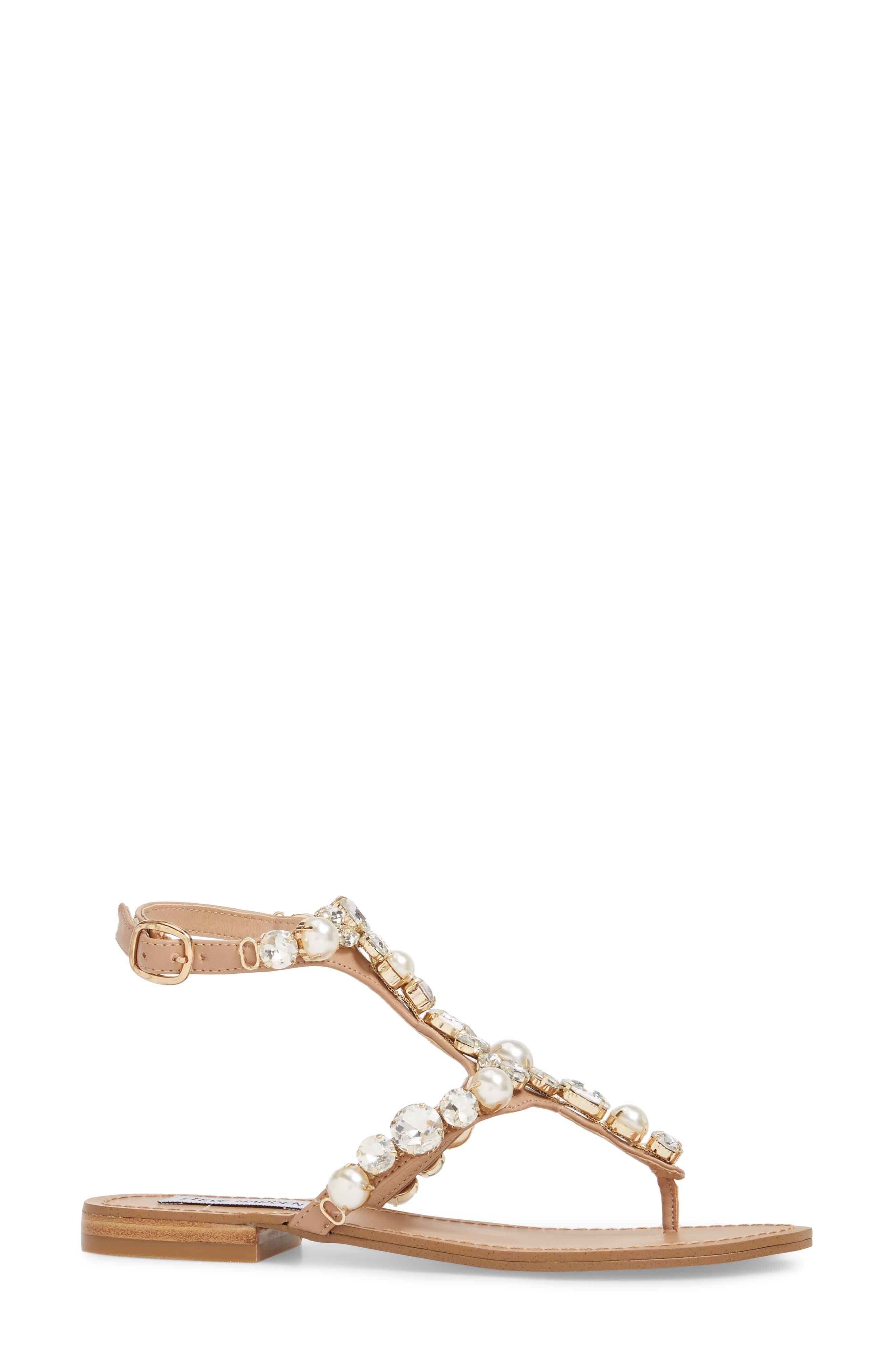 Chantel Crystal Embellished Sandal,                             Alternate thumbnail 6, color,