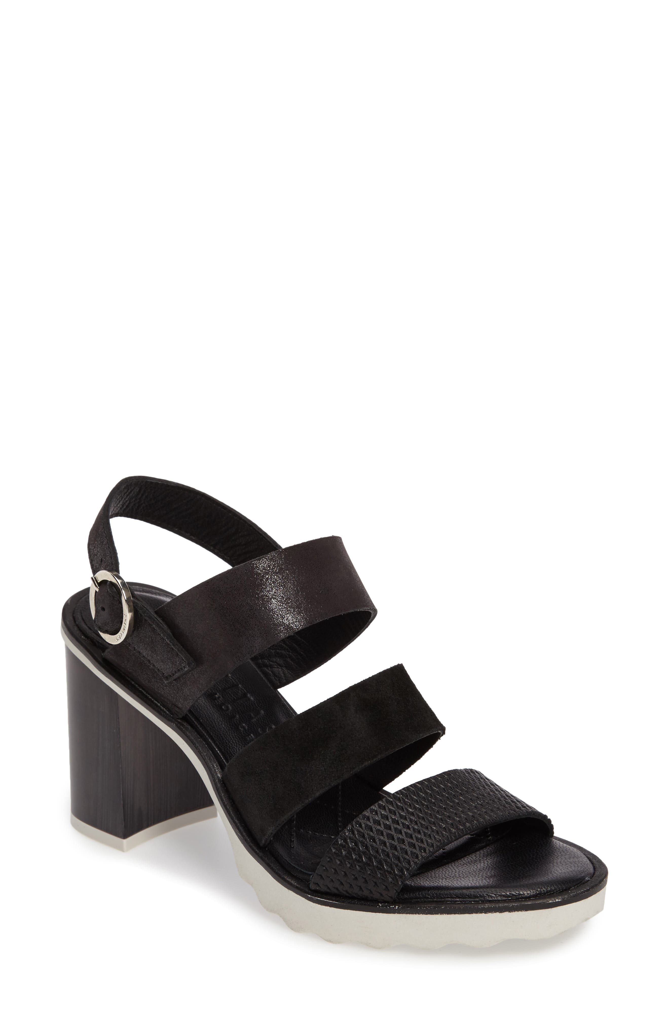 Greer Strappy Slingback Sandal,                         Main,                         color, 001