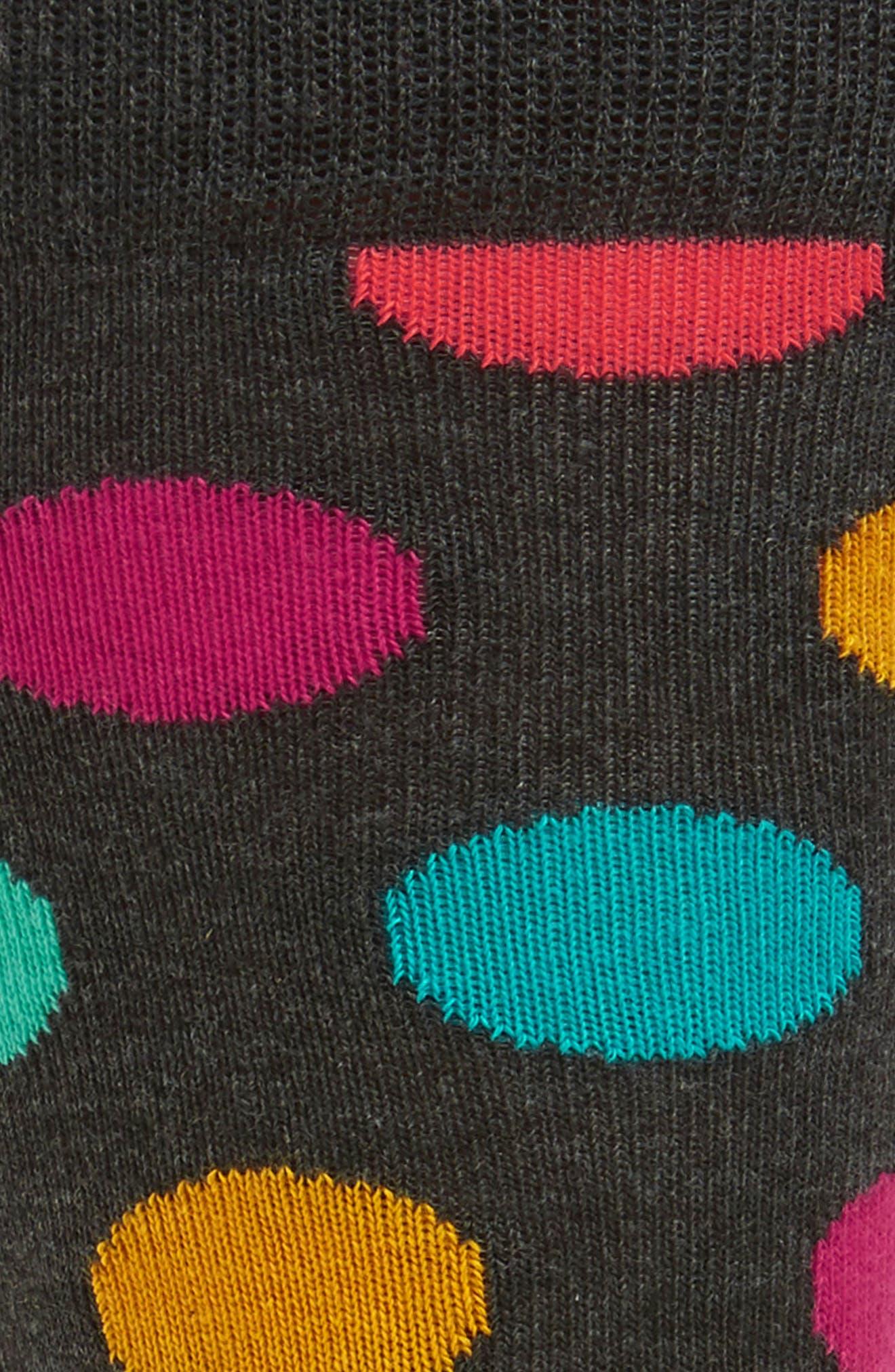 Dot Socks,                             Alternate thumbnail 2, color,                             020