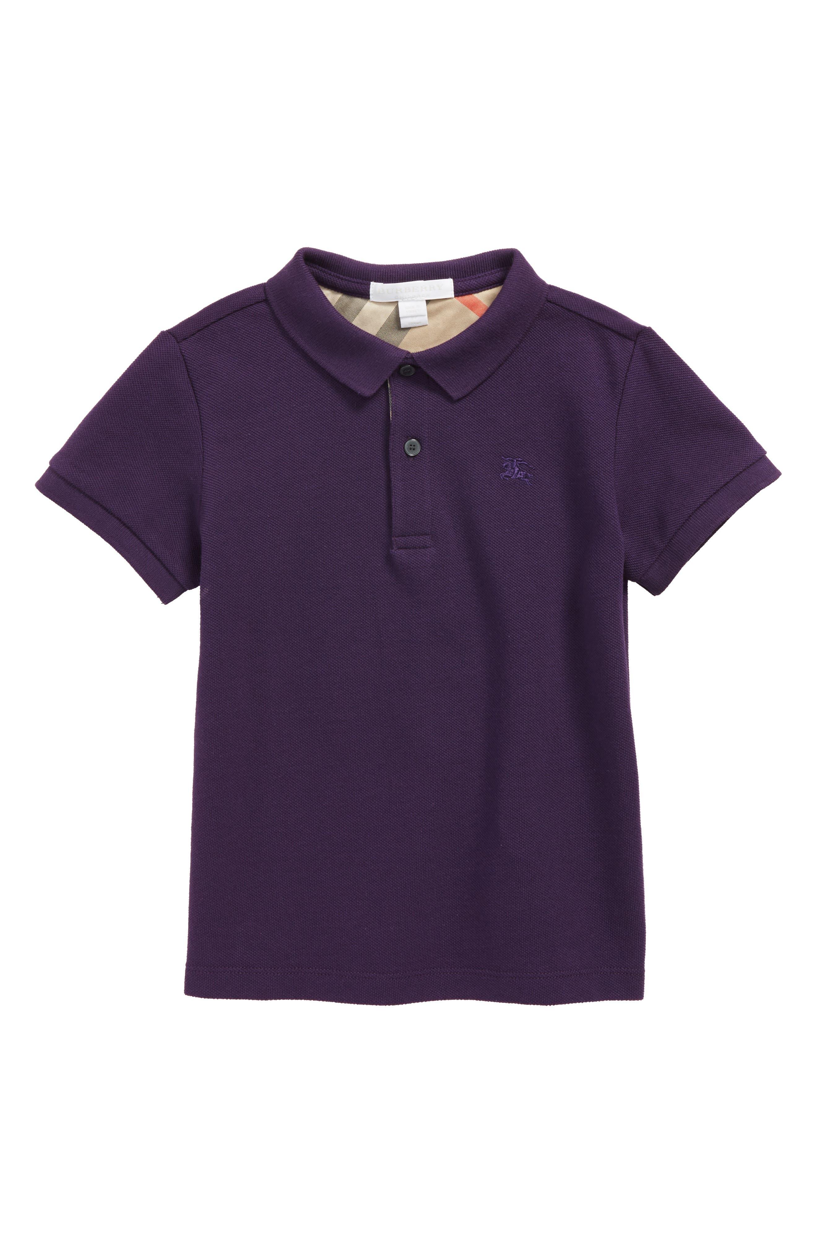 Mini Cotton Piqué Polo,                             Main thumbnail 3, color,