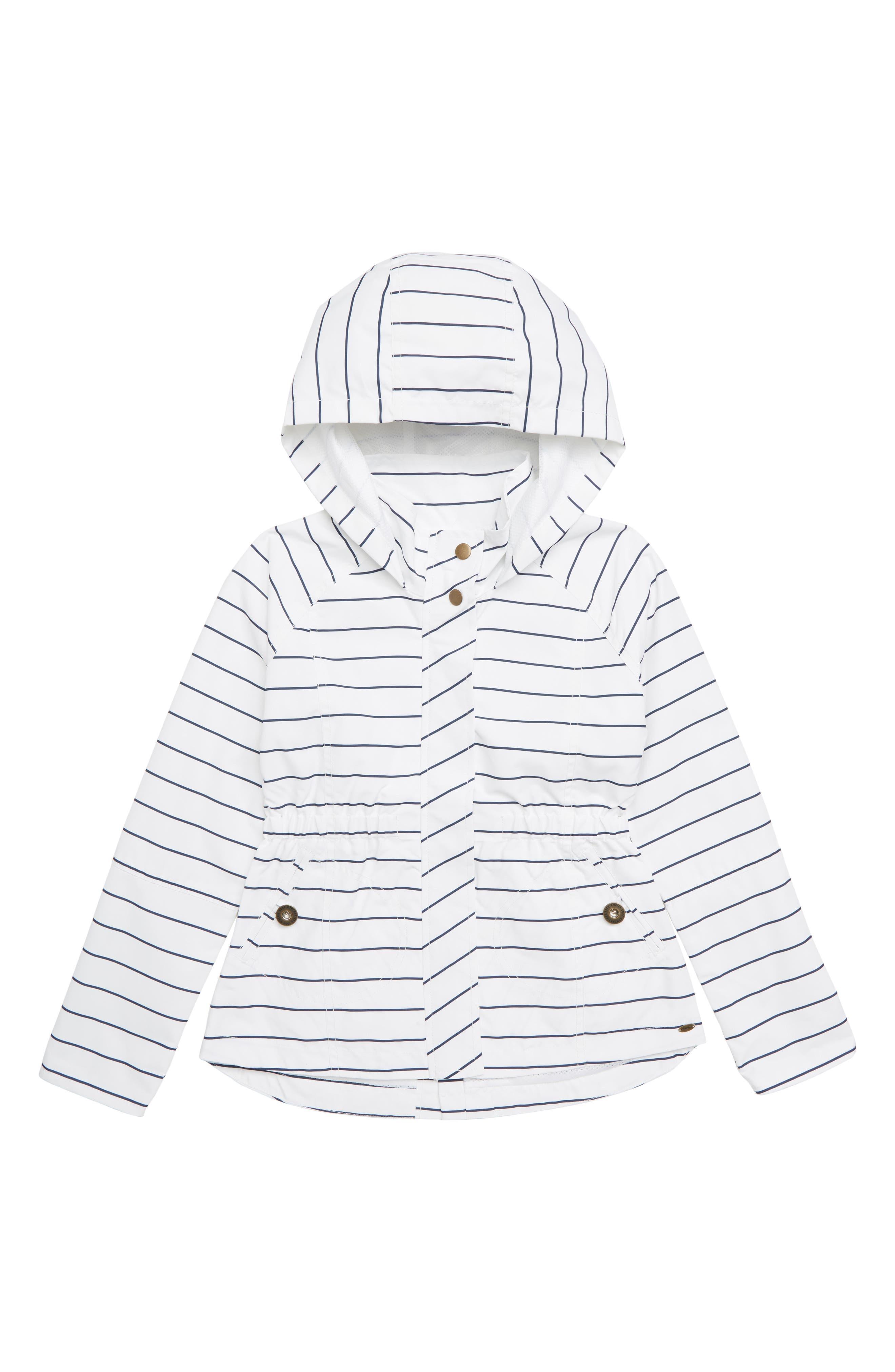 City Hooded Jacket,                             Main thumbnail 1, color,                             WHITE