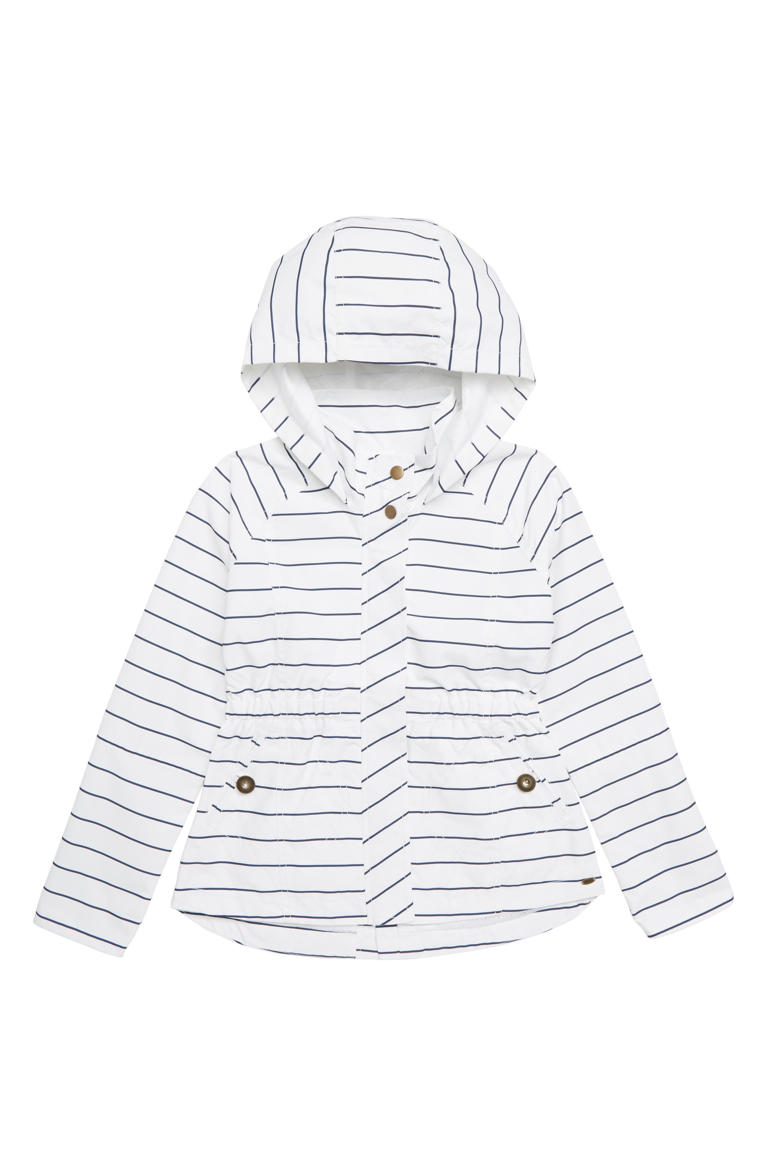 City Hooded Jacket,                         Main,                         color, WHITE