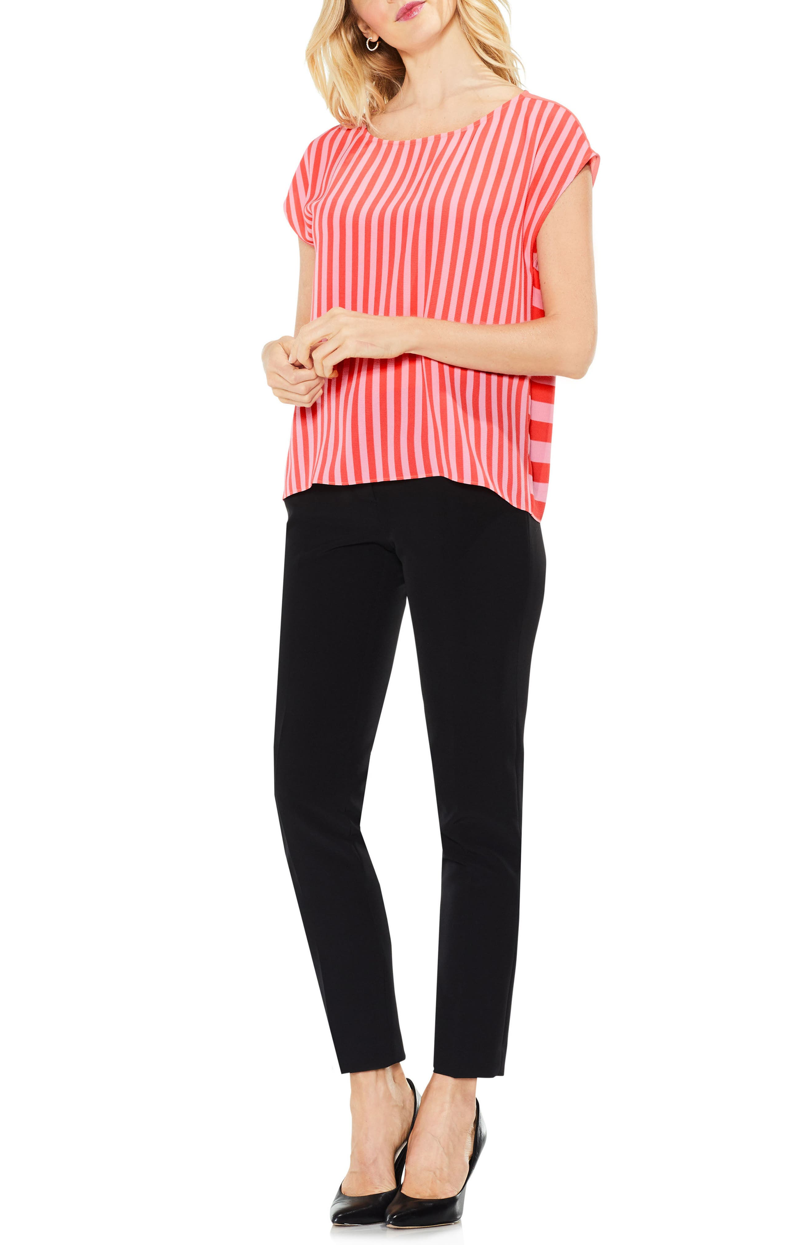 Mixed Stripe Top,                         Main,                         color, 845