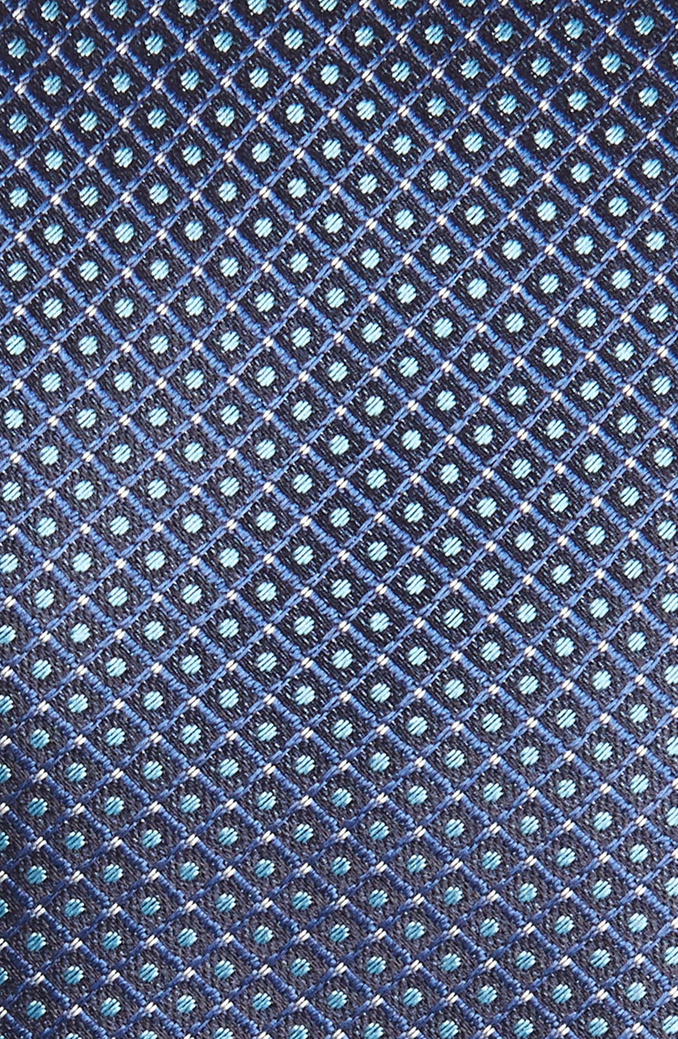Check Silk Tie,                             Alternate thumbnail 4, color,