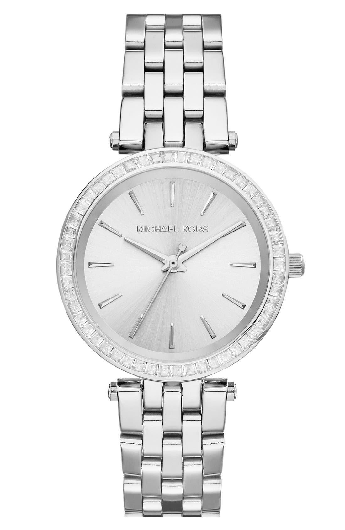 'Mini Darci' Round Bracelet Watch, 33mm,                         Main,                         color, 040