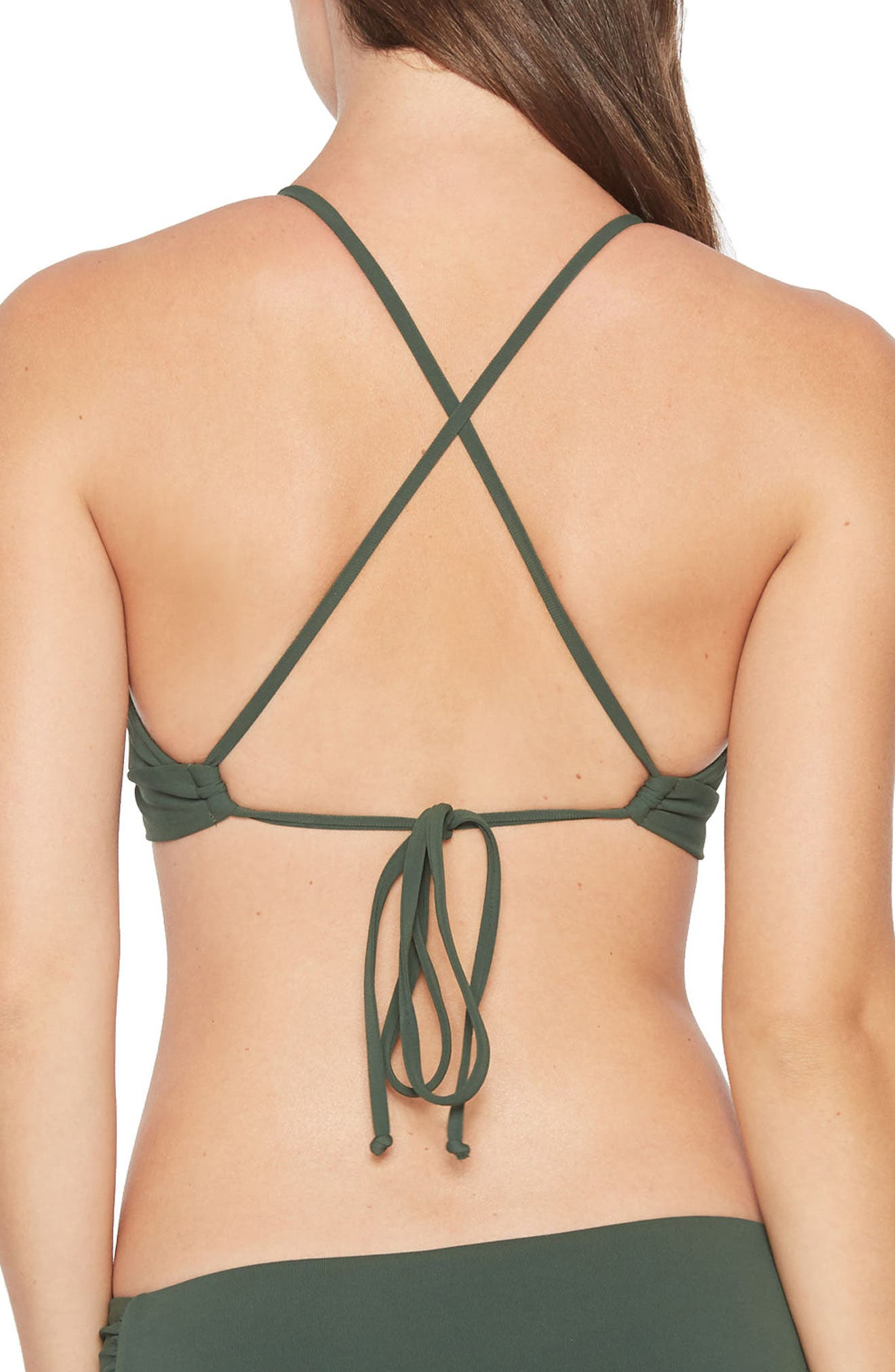 Ava Triangle Bikini Top,                             Alternate thumbnail 2, color,                             305