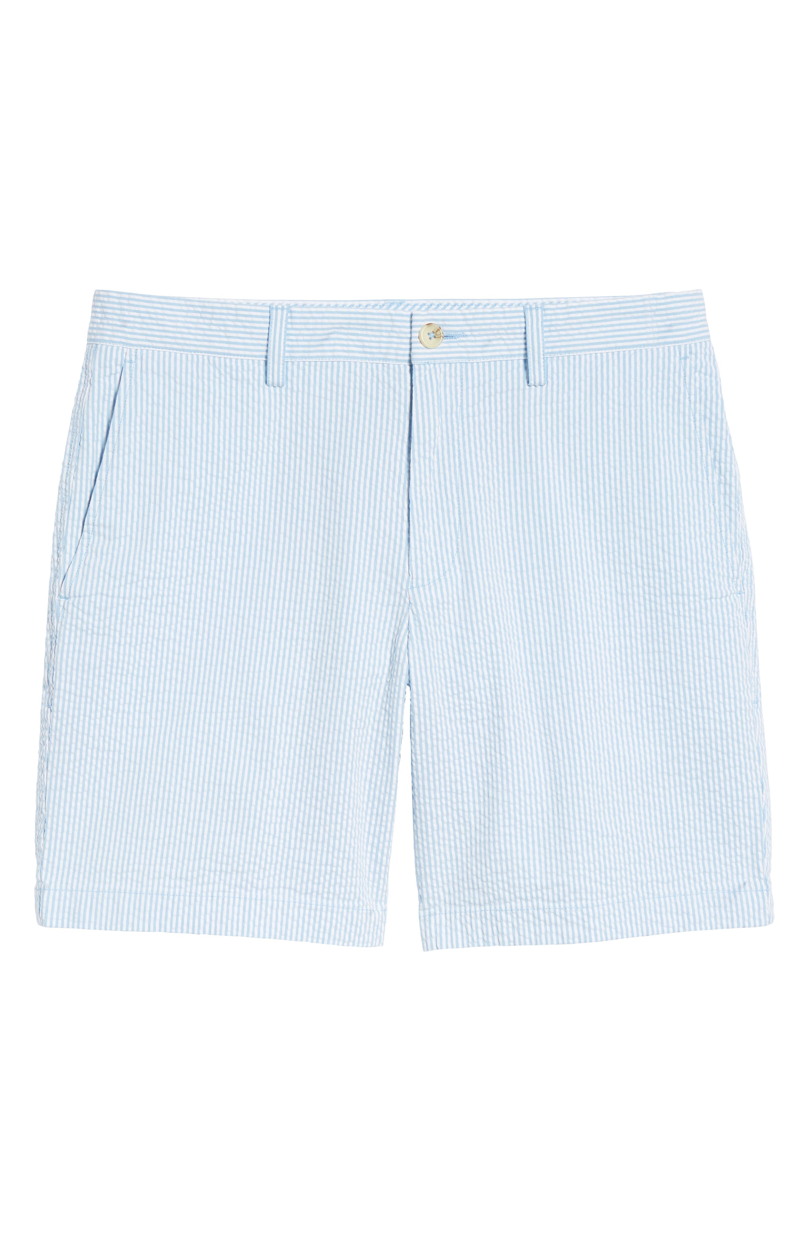 Stripe Seersucker Shorts,                             Alternate thumbnail 6, color,                             392