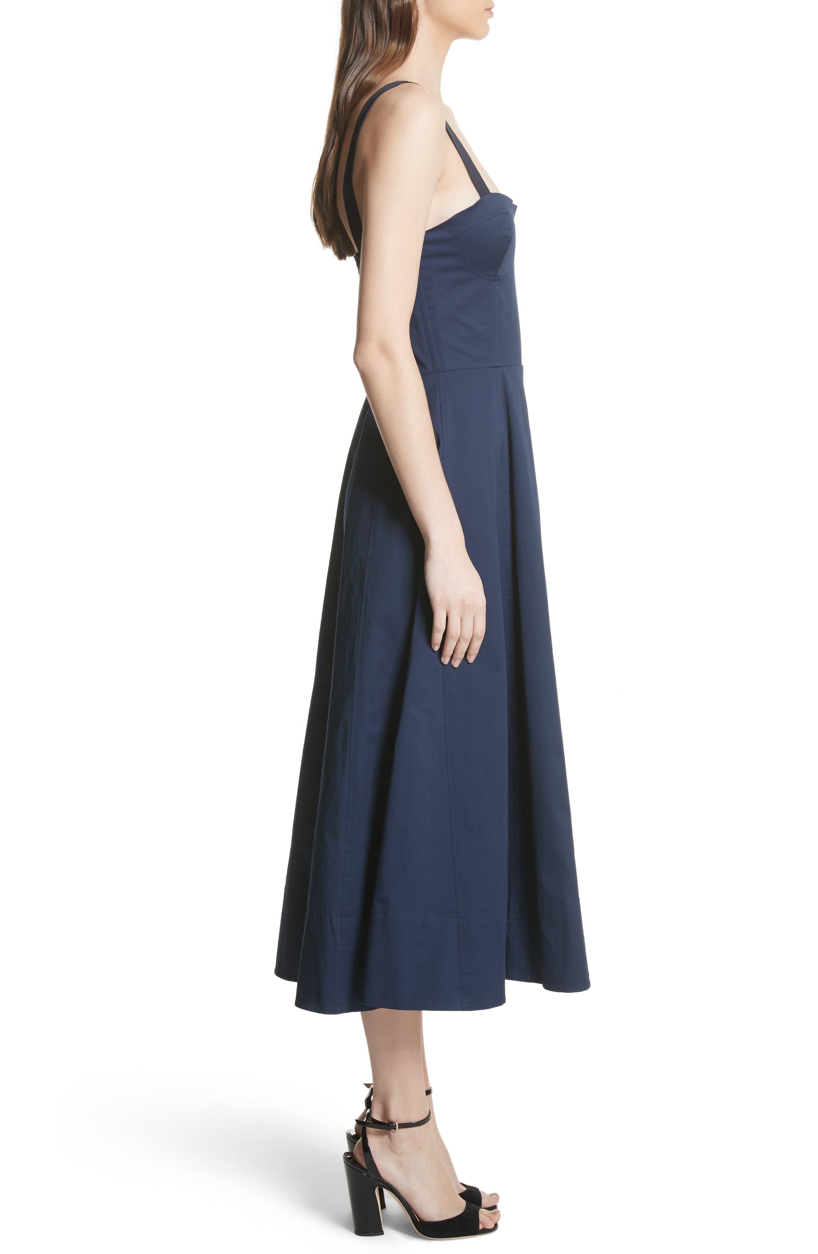Briel Midi Dress,                             Alternate thumbnail 6, color,